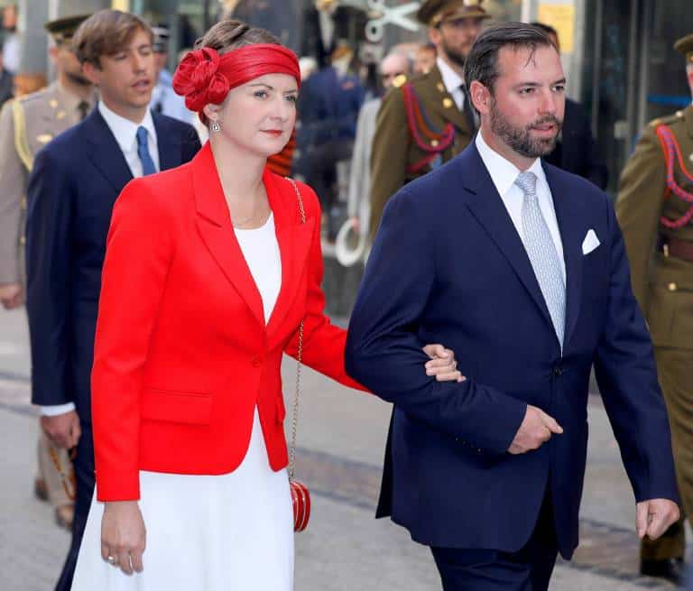 Stephanie Von Luxemburg Schlechte Laune Bei Der Oktav Wallfahrt