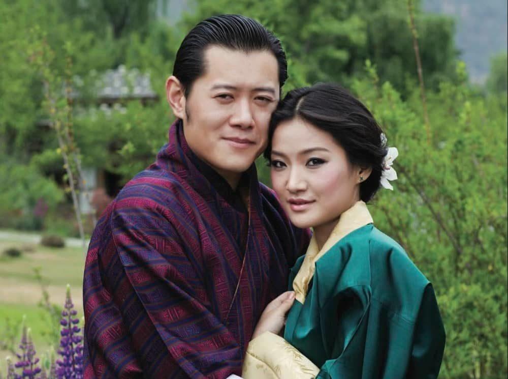 Königspaar Bhutan