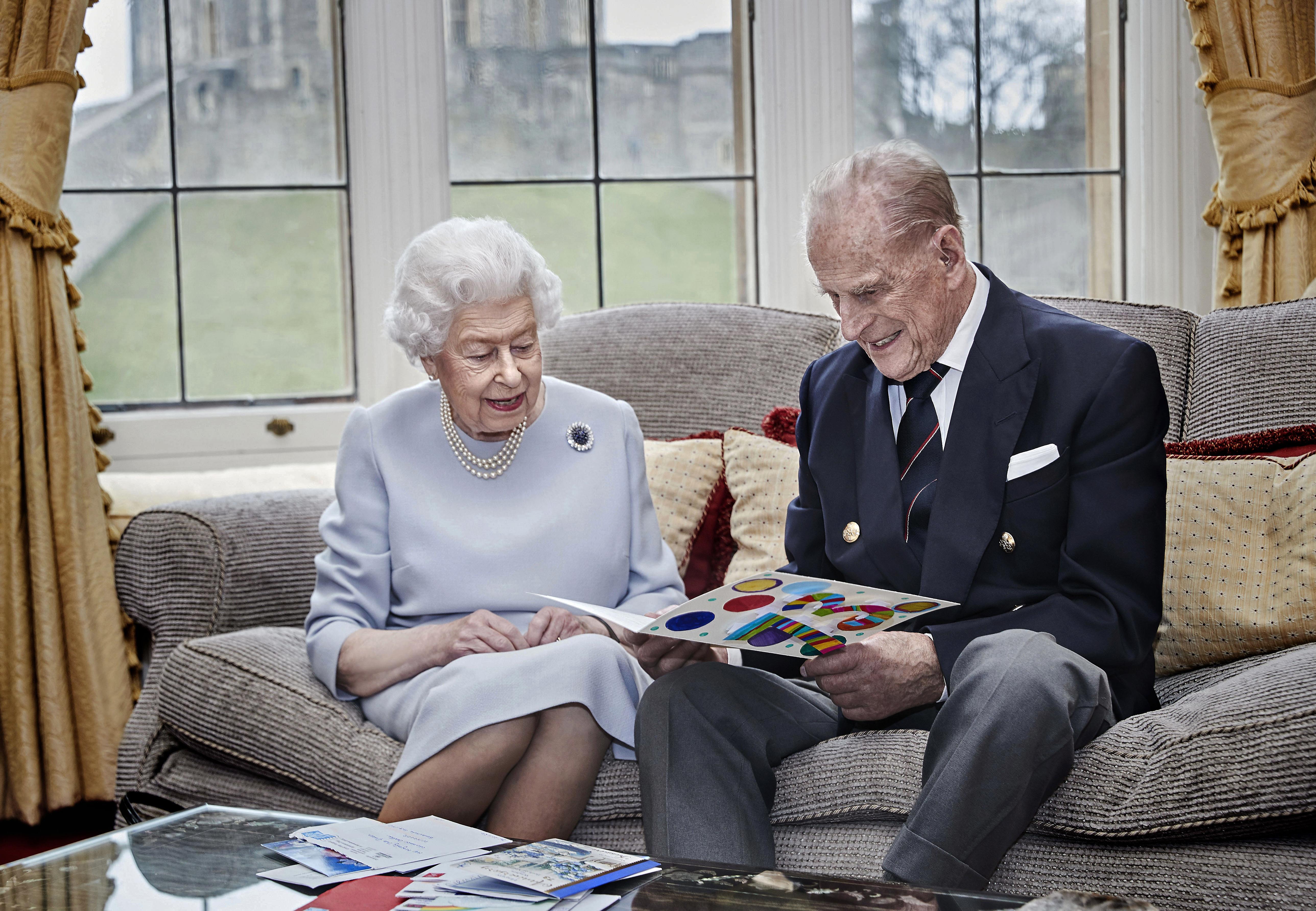 Queen Elizabeth und Prinz Philip Hochzeitstag
