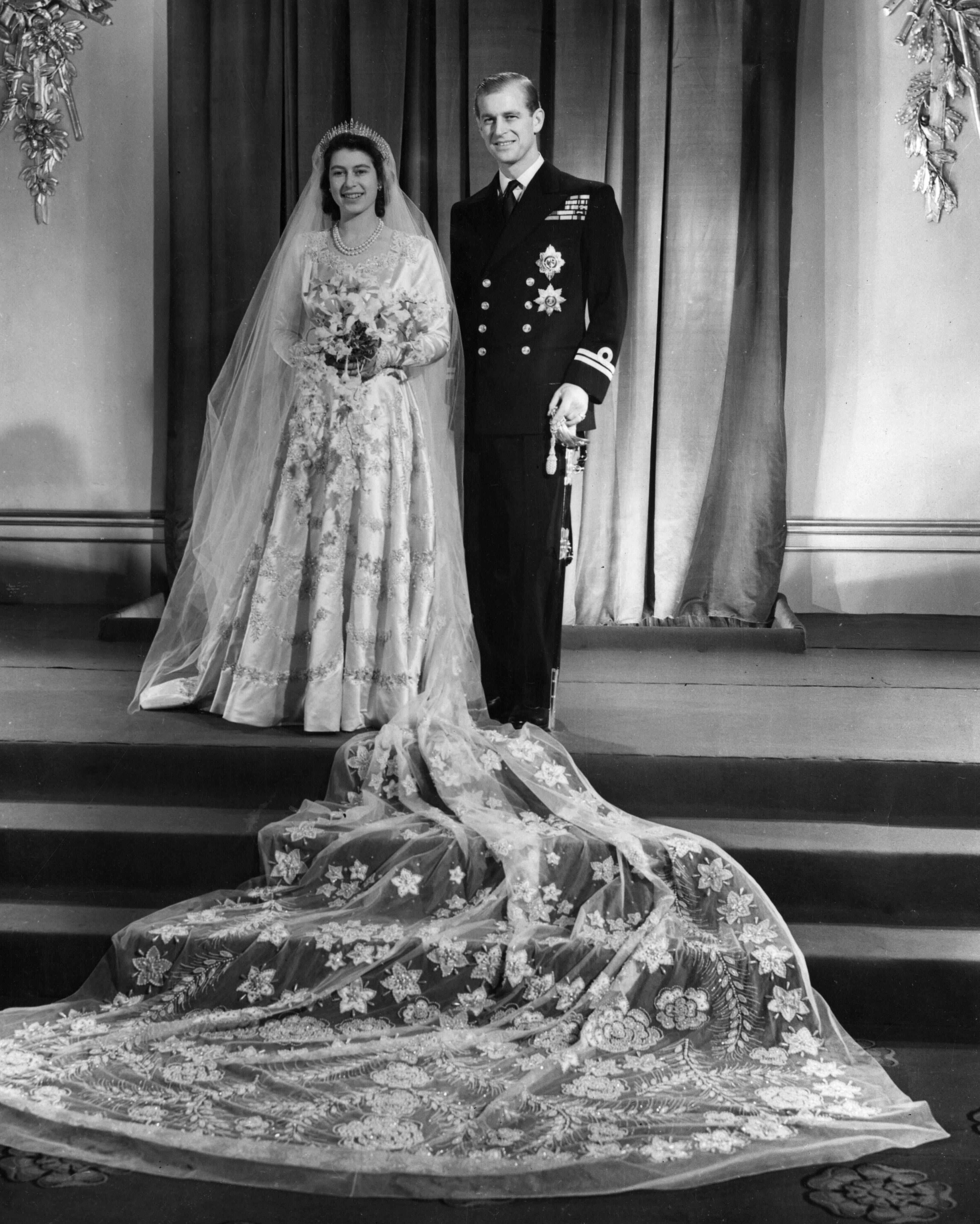 Hochzeit Elizabeth und Philip