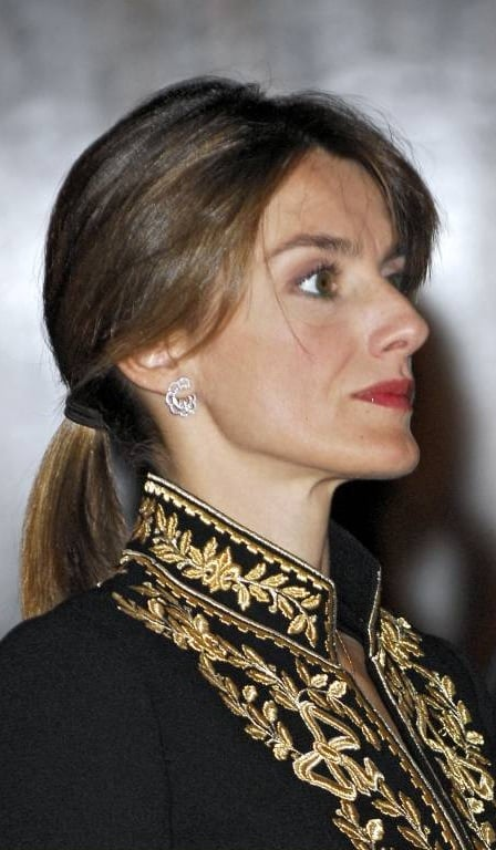 Schwanger letizia spanien Königin Letizia: