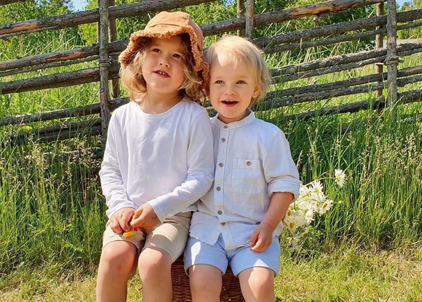 Prinz Alexander und Prinz Gabriel