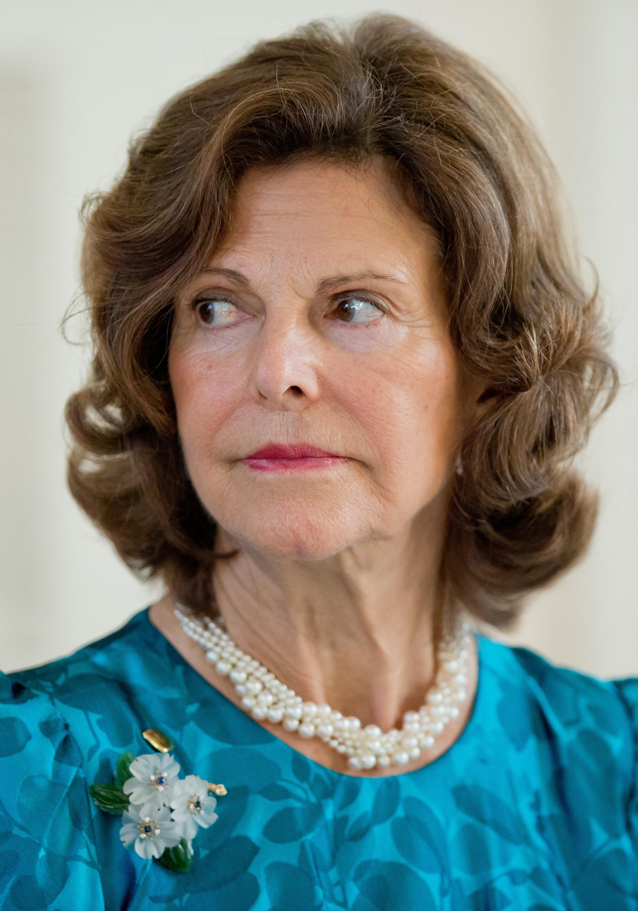 """Königin Silvia hat sich intensiv mit der Vergangenheit ihres Vaters auseinandergesetzt. """"Ich habe keinen Grund, mein Bild von meinem geliebten Vater zu ändern"""", so die Frau von König Carl Gustaf. ©dpa"""