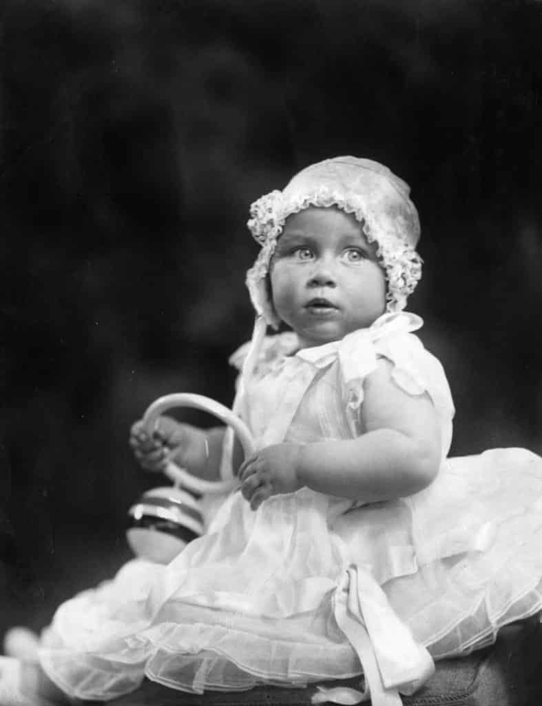 Prinzessin Margaret als Baby