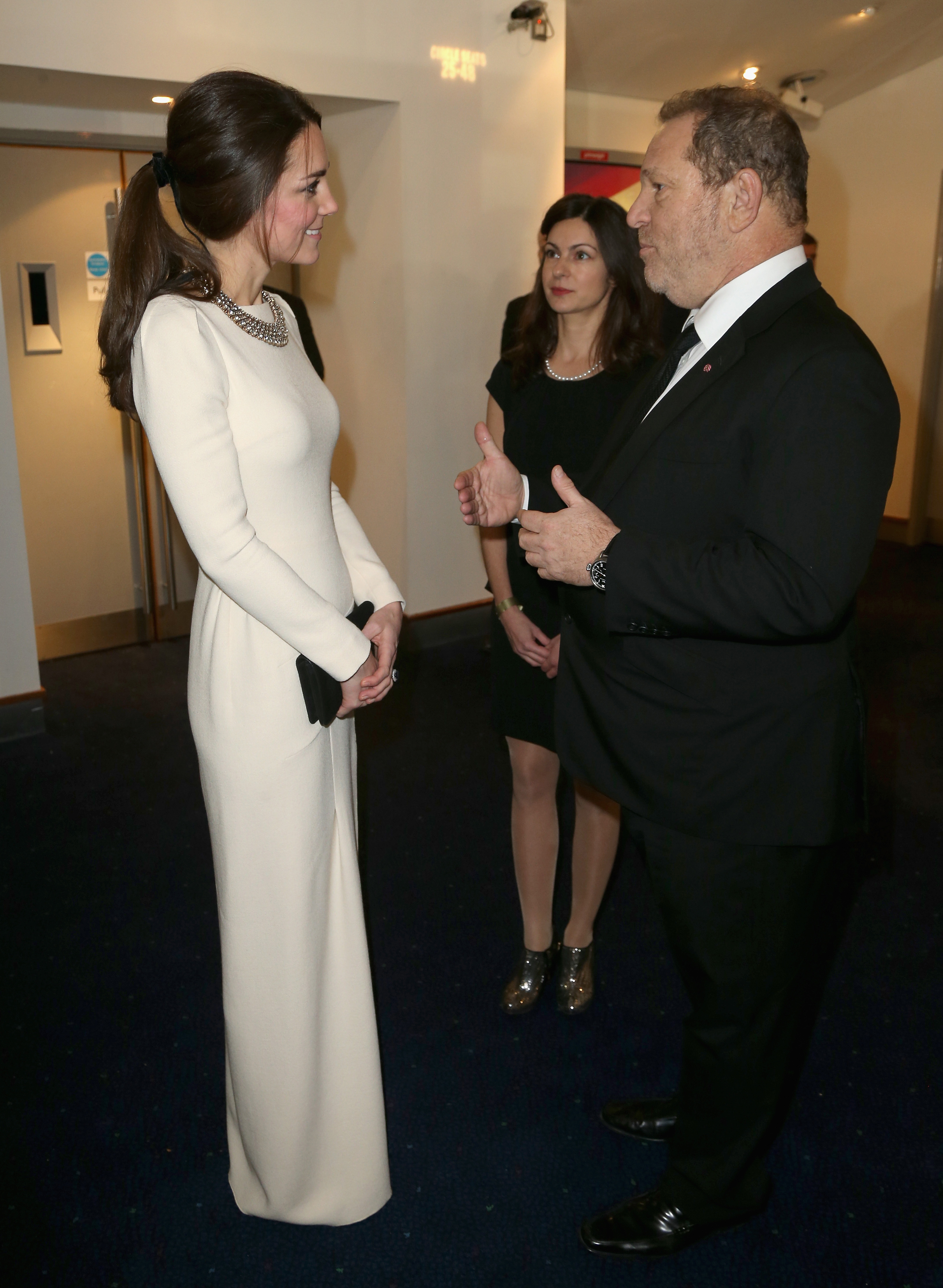 Herzogin Kate und Harvey Weinstein