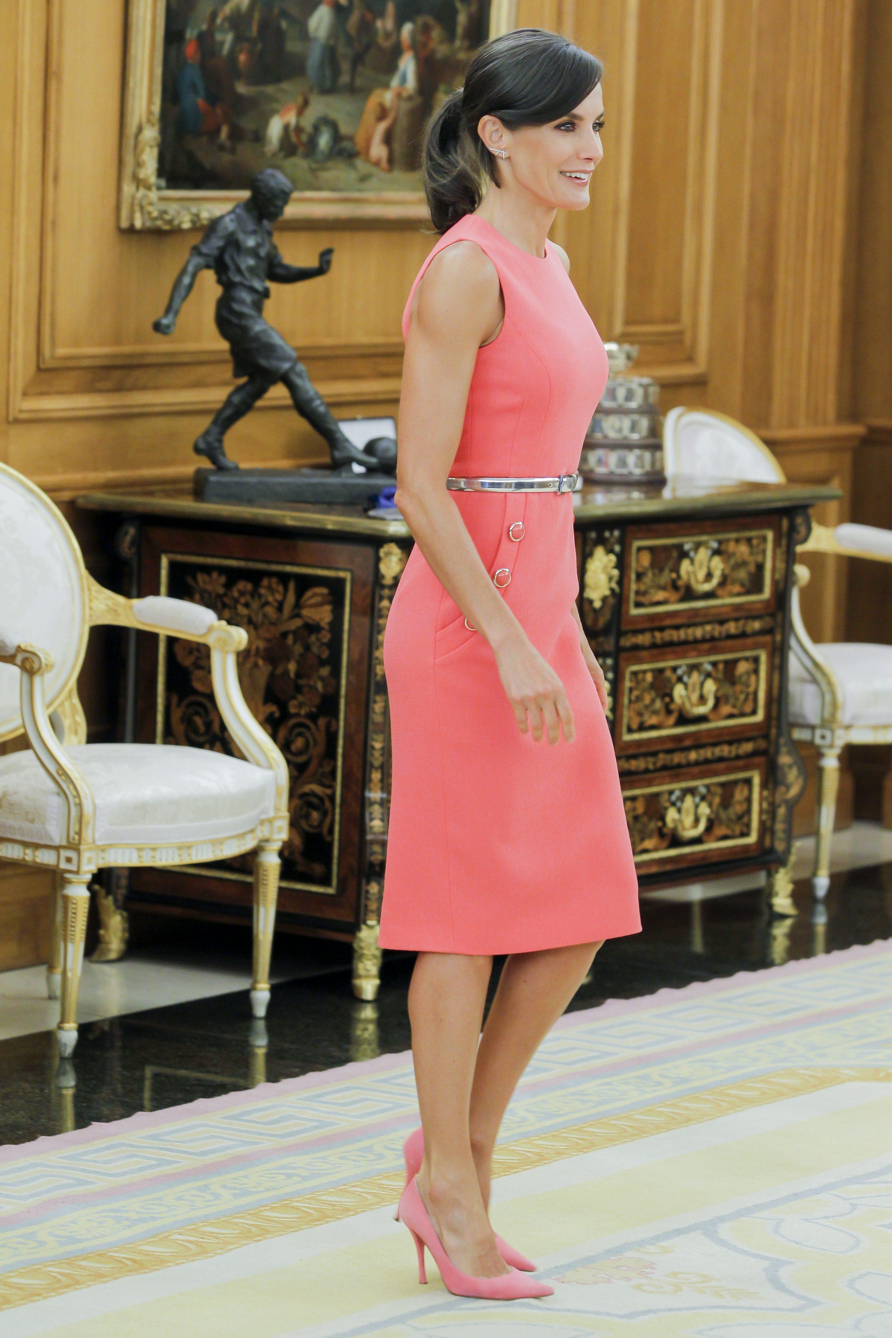 Königin Letizia Kleid Michael Kors