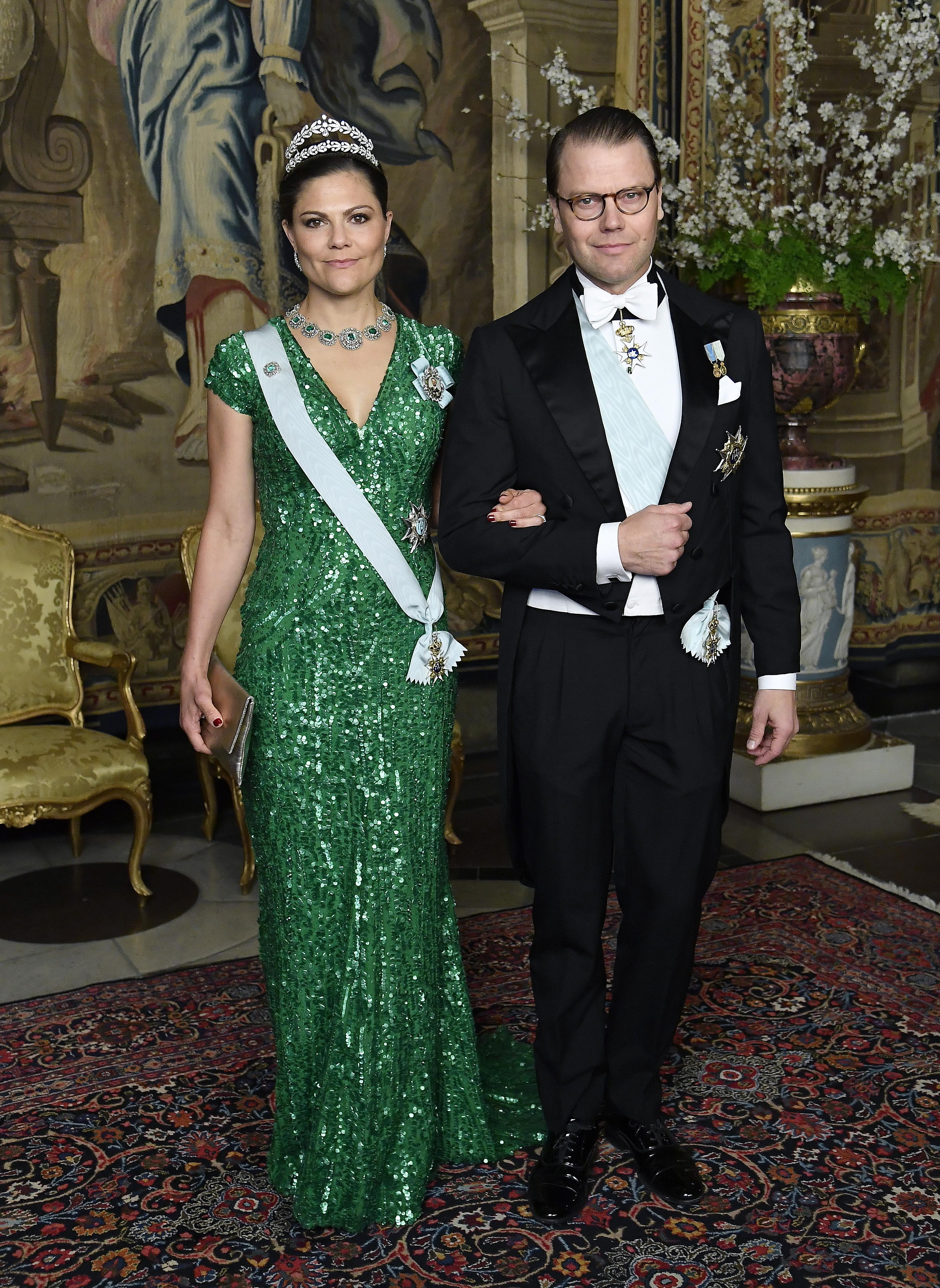 Dieses Schmuckstück zählt zu den bekanntesten Kleidern der Schwedin. Das gleiche Modell wurde auch schon von Schauspielerin Gwyneth Paltrow getragen – jedoch mit einem tieferen Ausschnitt.