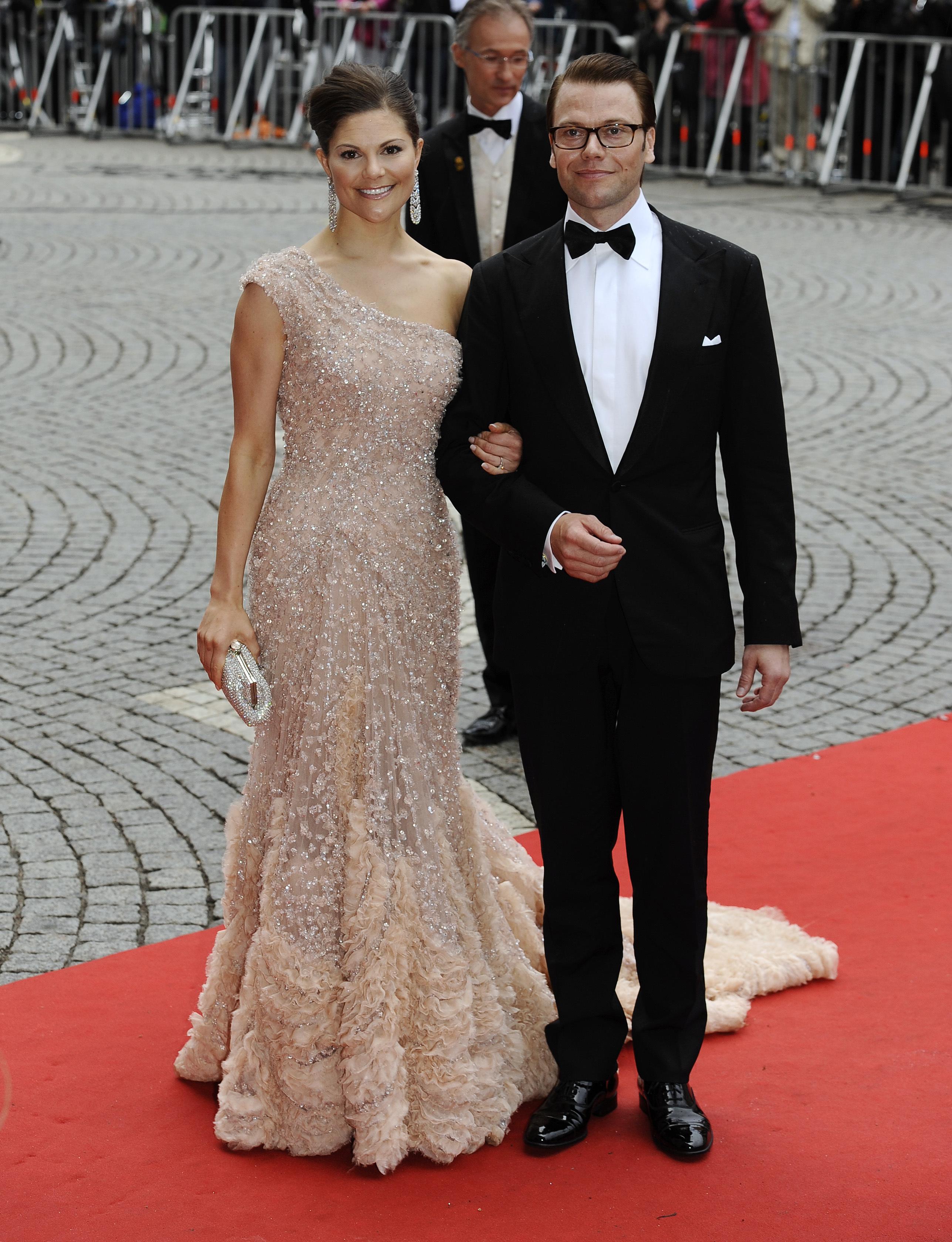 Victoria von Schweden im Abendkleid von Elie Saab