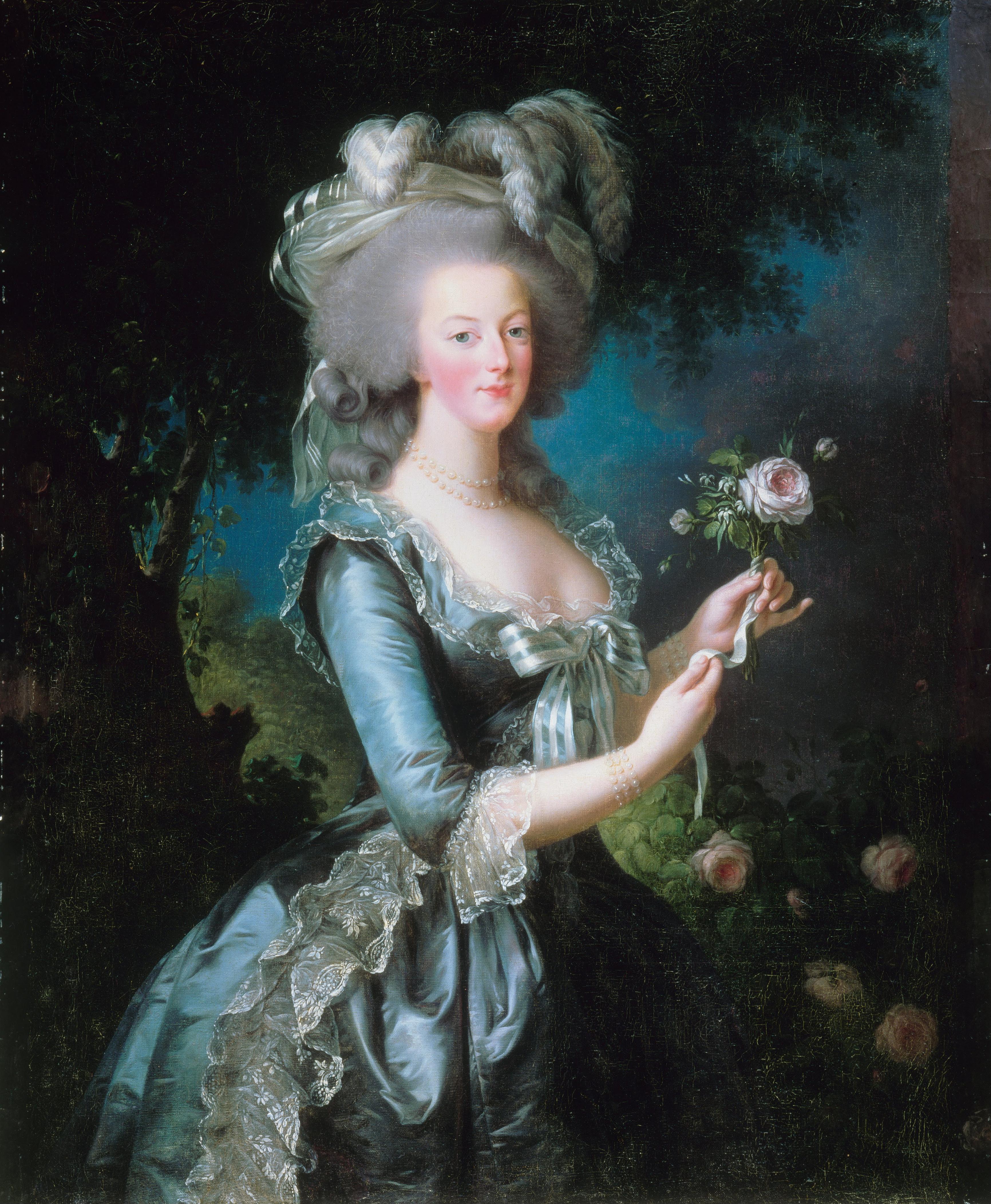 Königin Marie Antoinette wurde das Opfer einer Verschwörung.