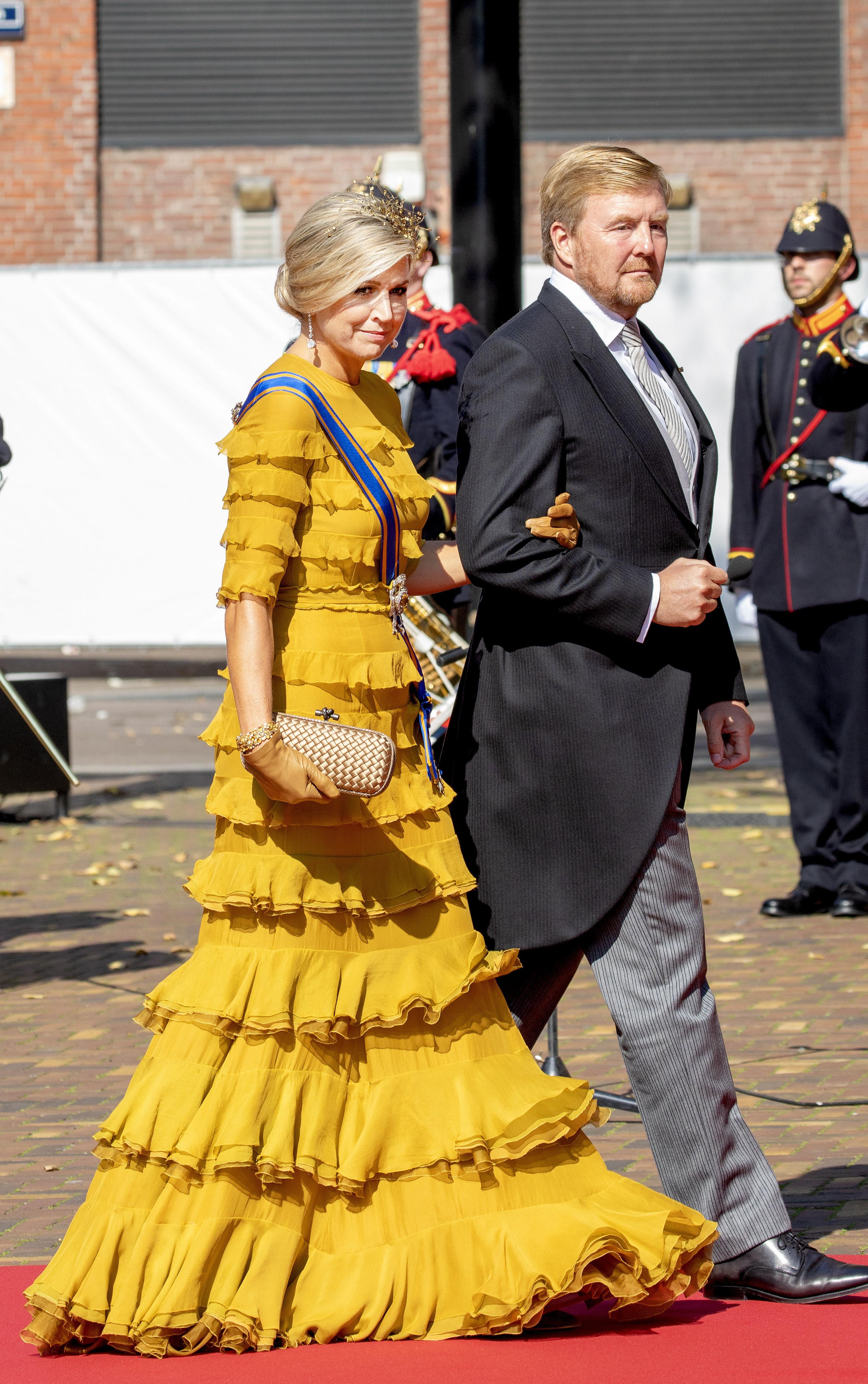 Das niederländische Königspaar am Prinsjesdag
