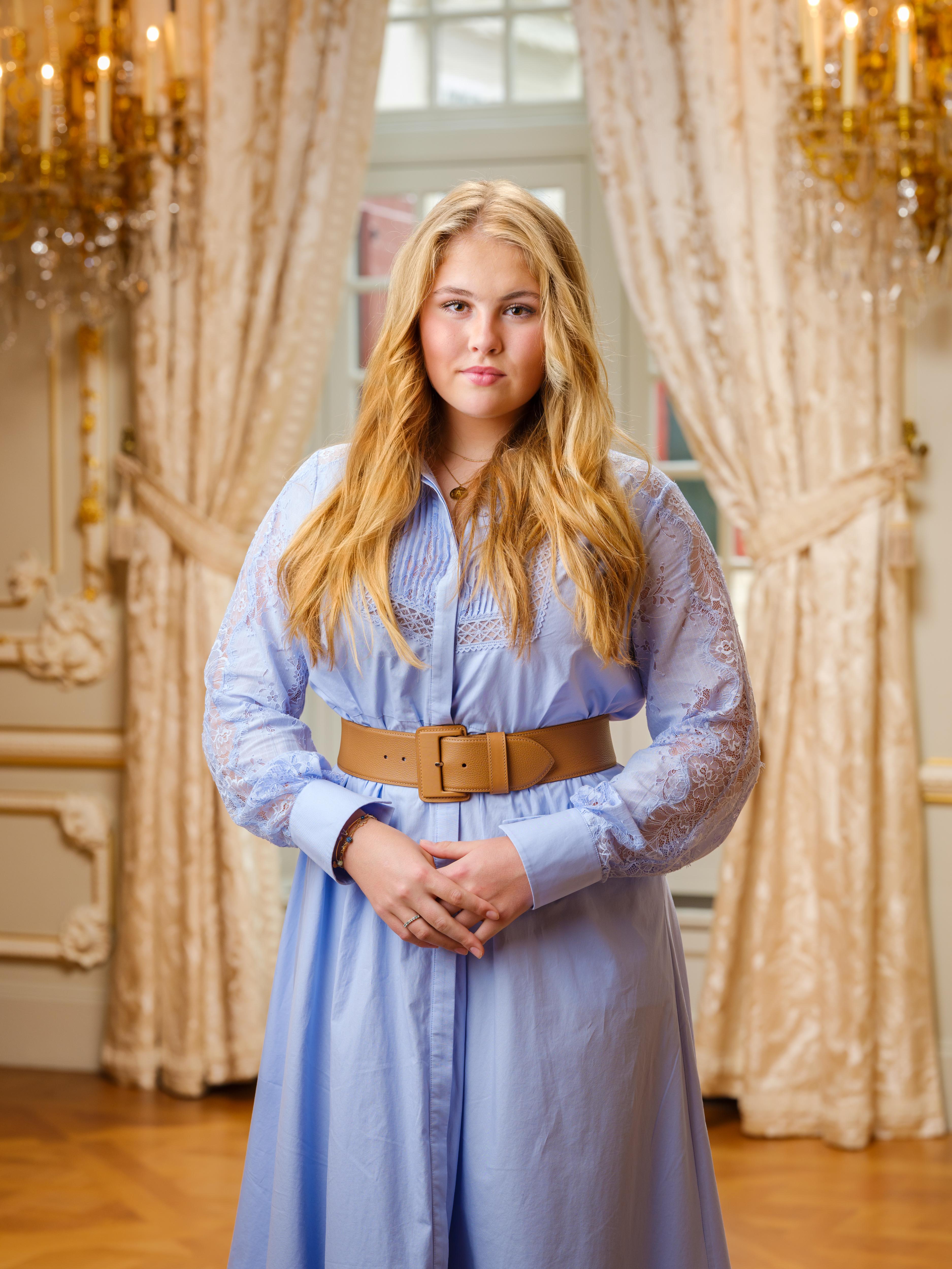 Porträt von Prinzessin Amalia der Niederlande
