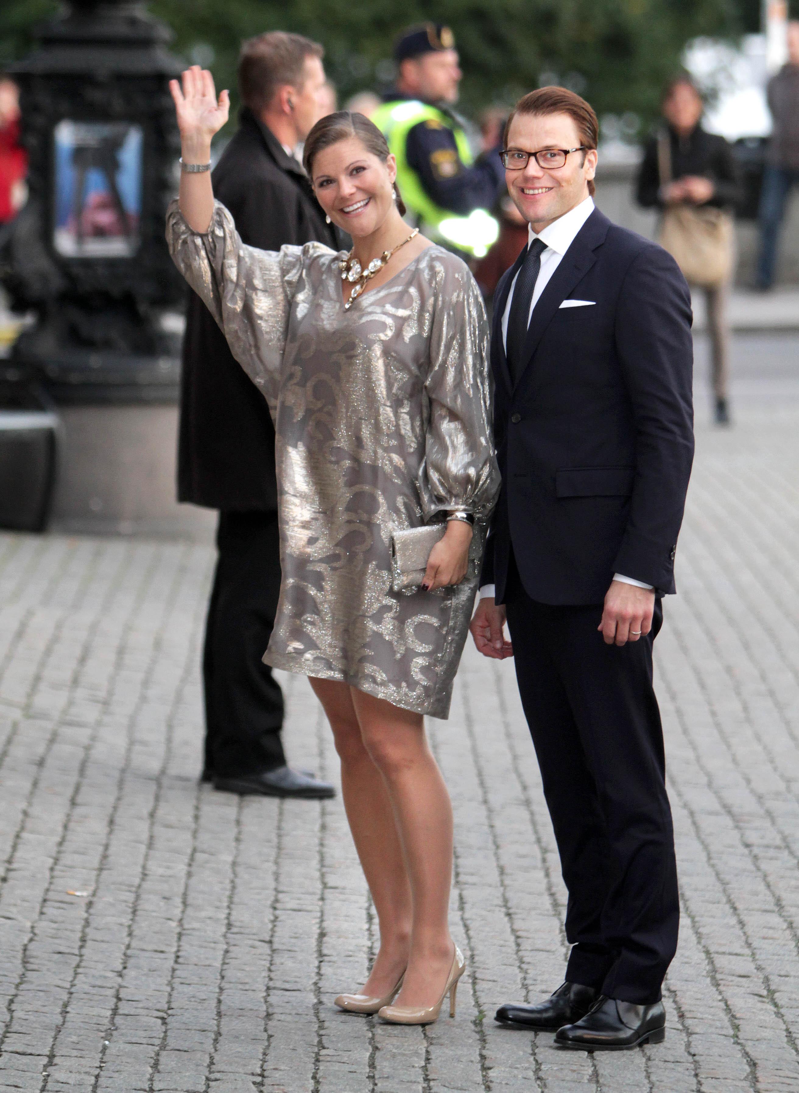 Kronprinzessin Victoria und Prinz Daniel