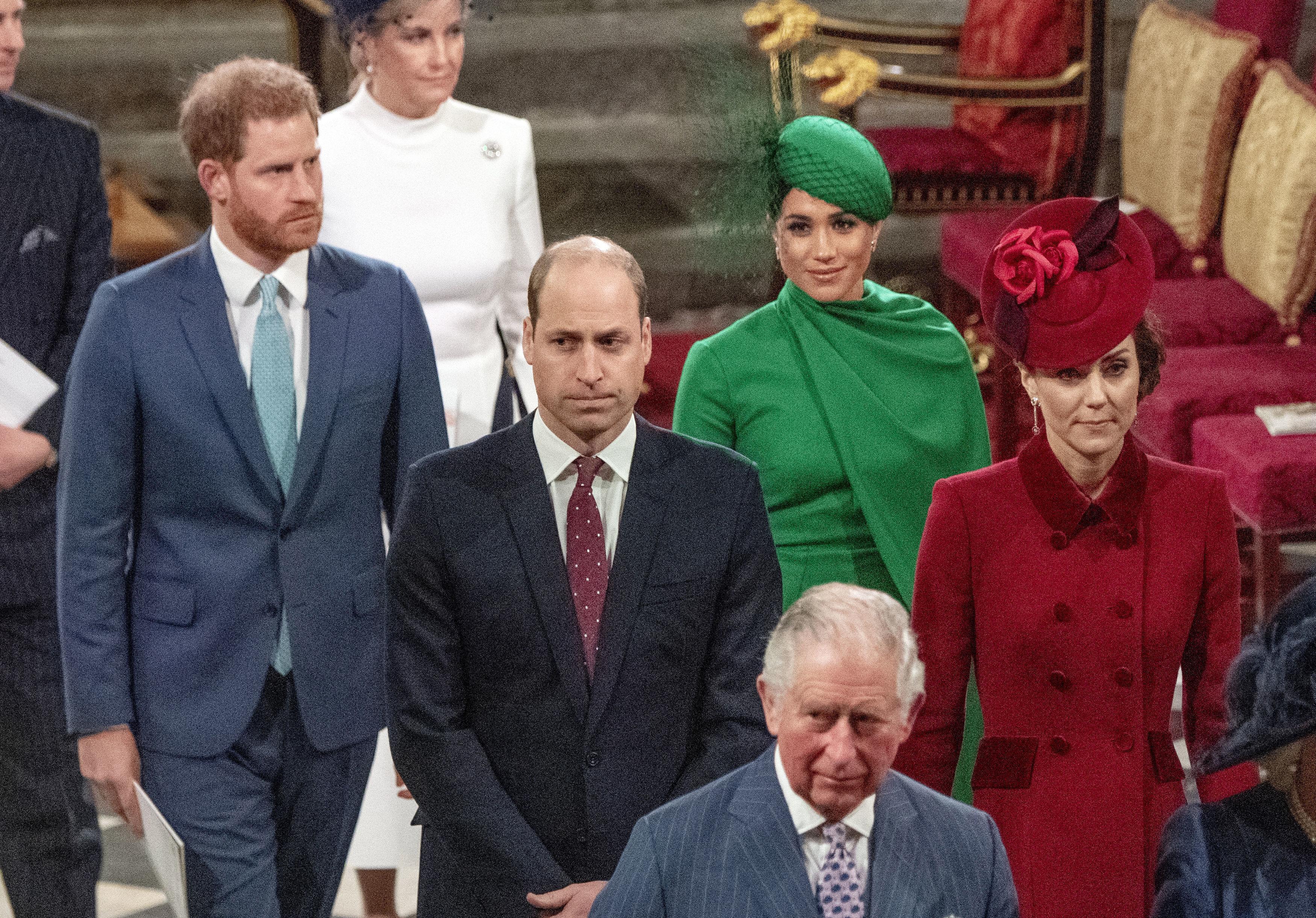 Prinz Harry Streit Prinz William