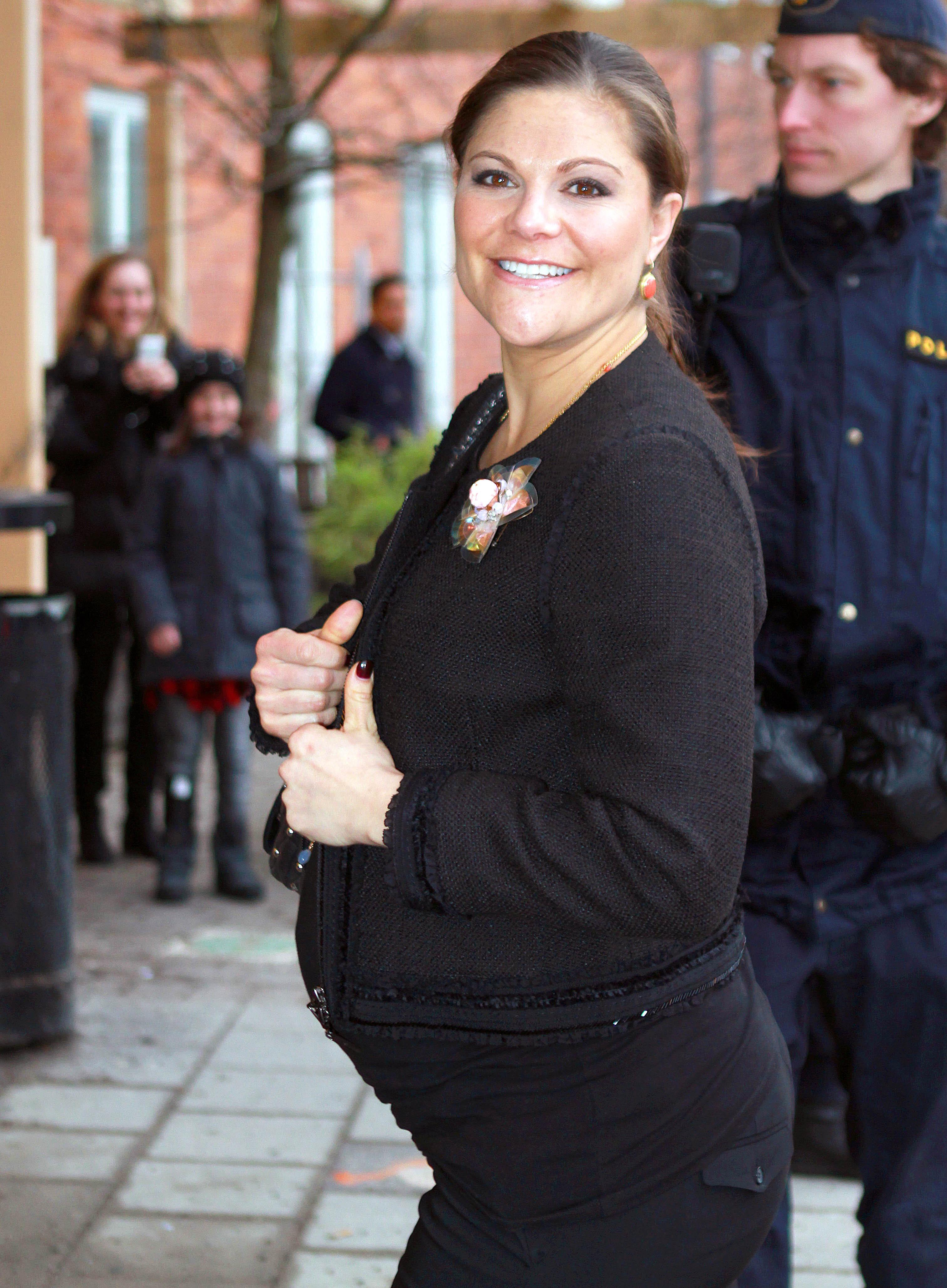 Kronprinzessin Victoria Babybauch