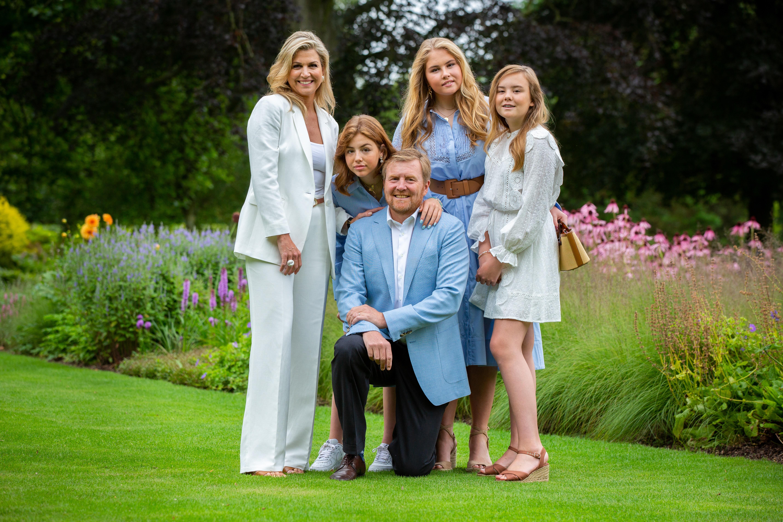Prinzessin Alexia und die niederländische Königsfamilie