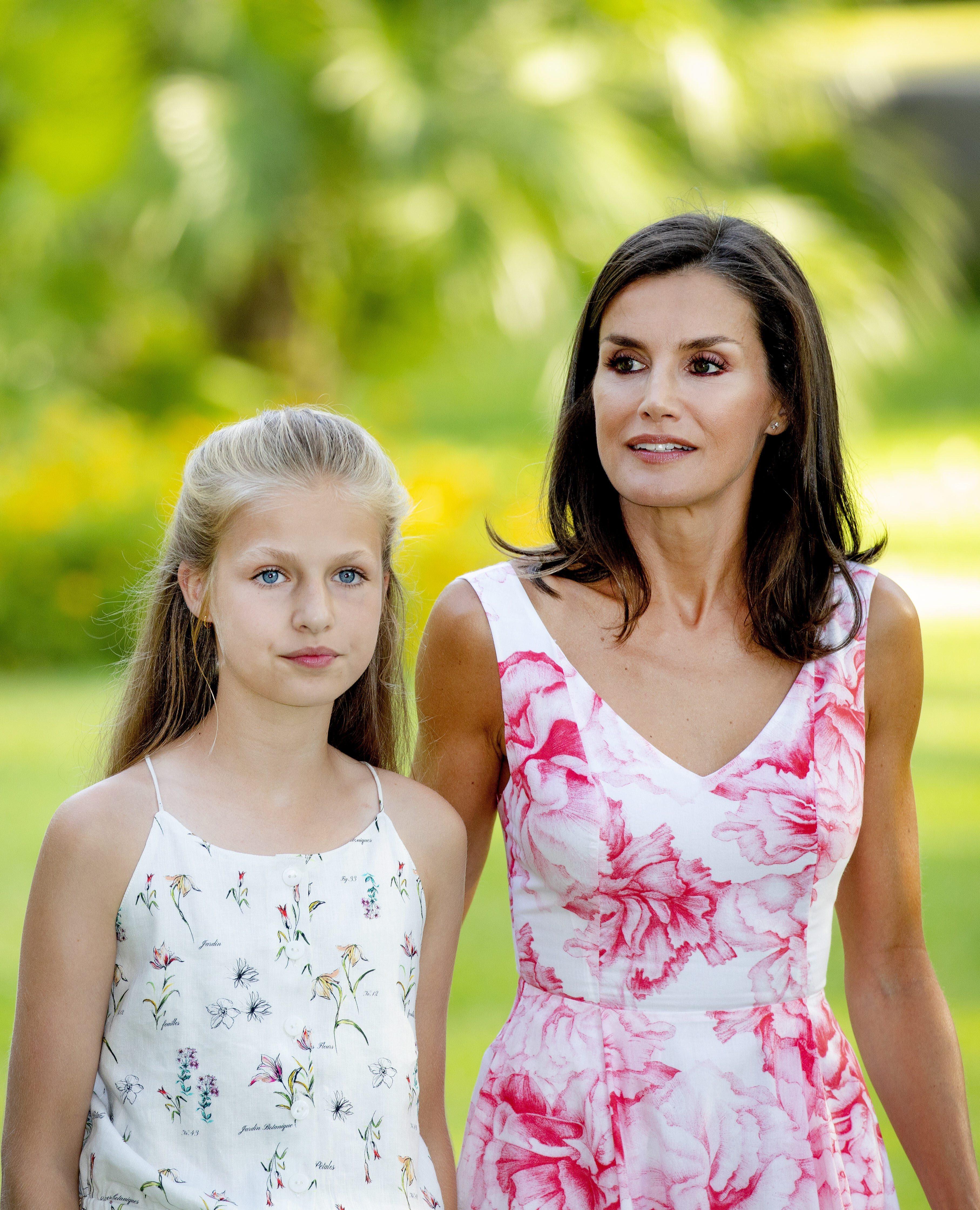Prinzessin Leonor und Königin Letizia