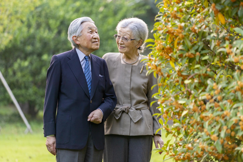 Akihito und Michiko von Japan