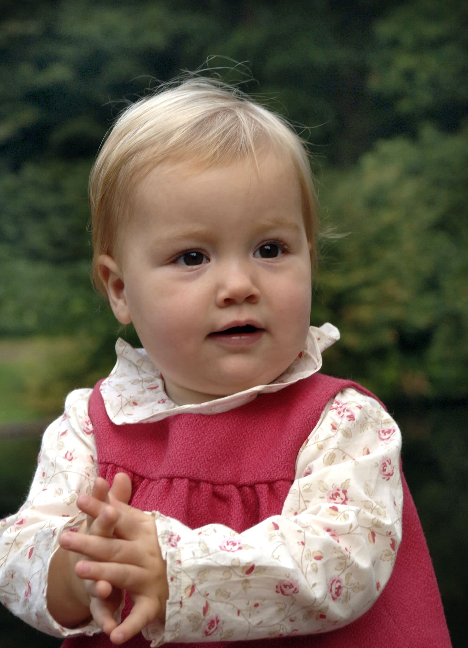 Prinzessin Alexia als Baby