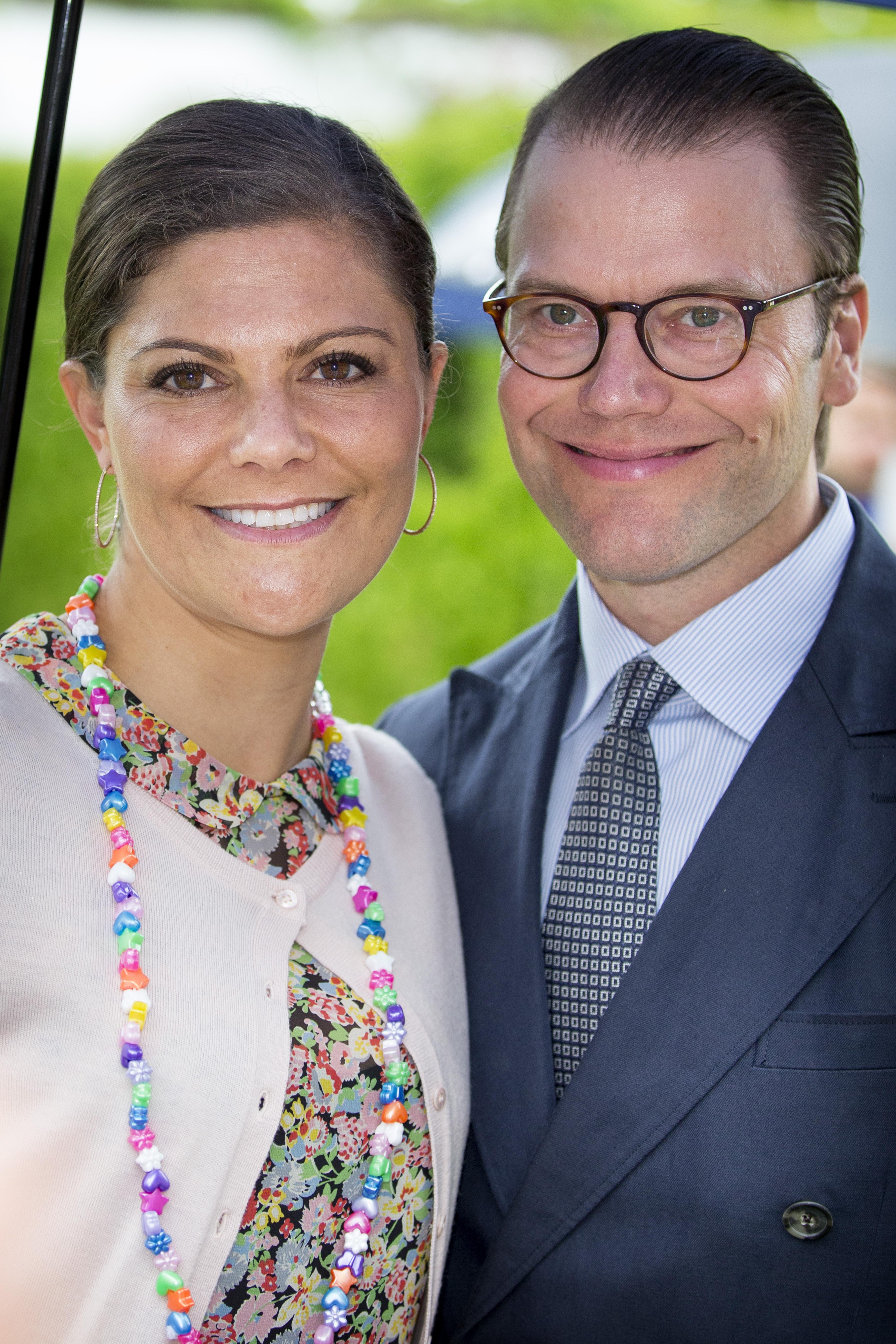 Kronprinzessin Victoria und Prinz Daniel von Schweden