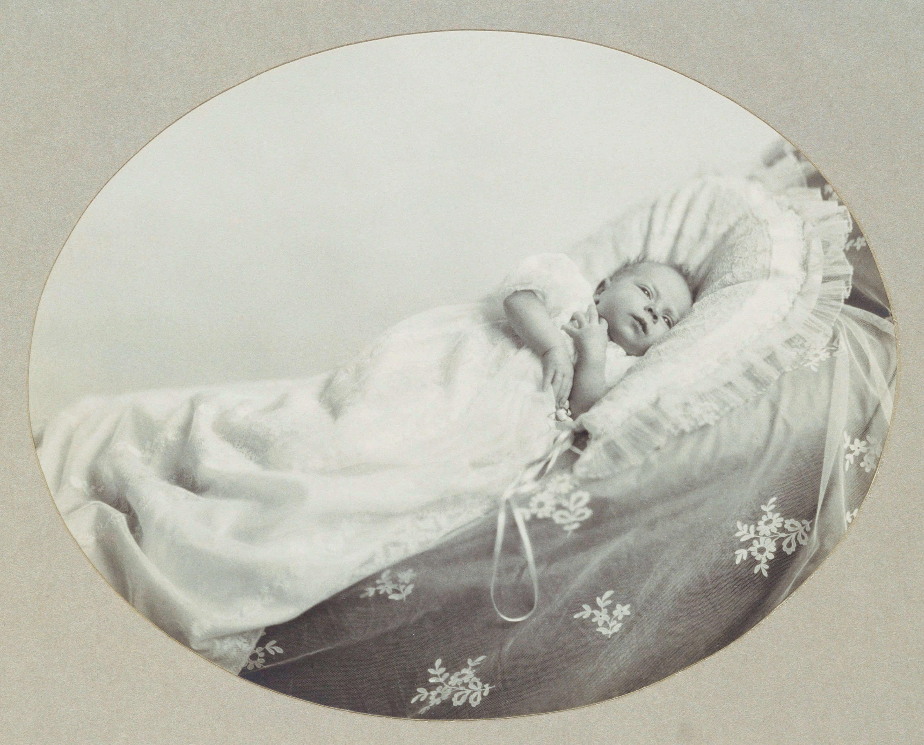 Queen Elizabeth als Baby