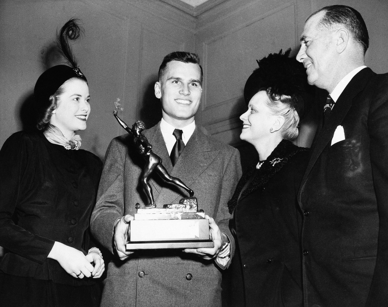 Gracia Patricia, John B.Kelly und ihre Eltern John Brendan Kelly Sr. und Margaret