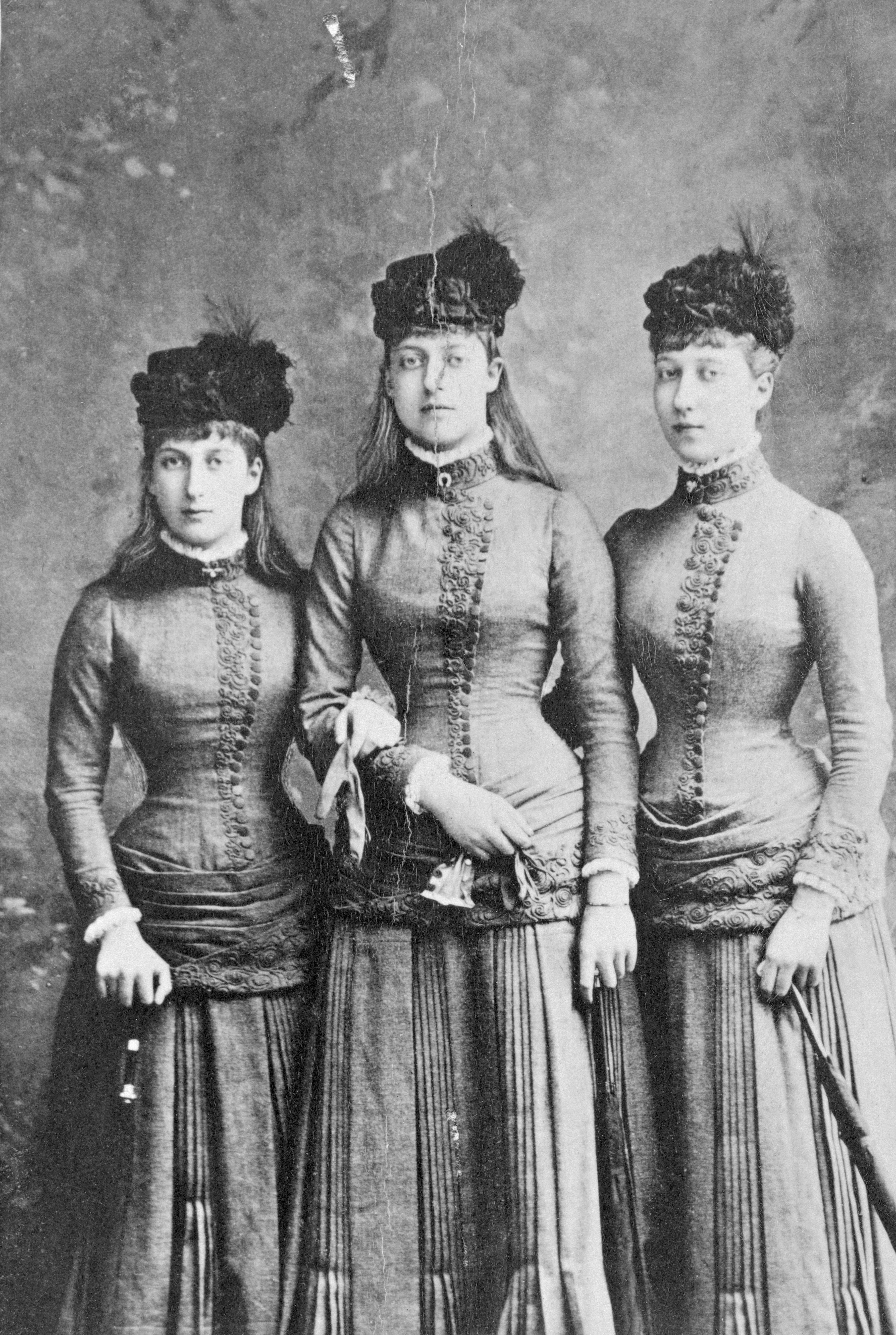 Maud, Louisa und Victoria