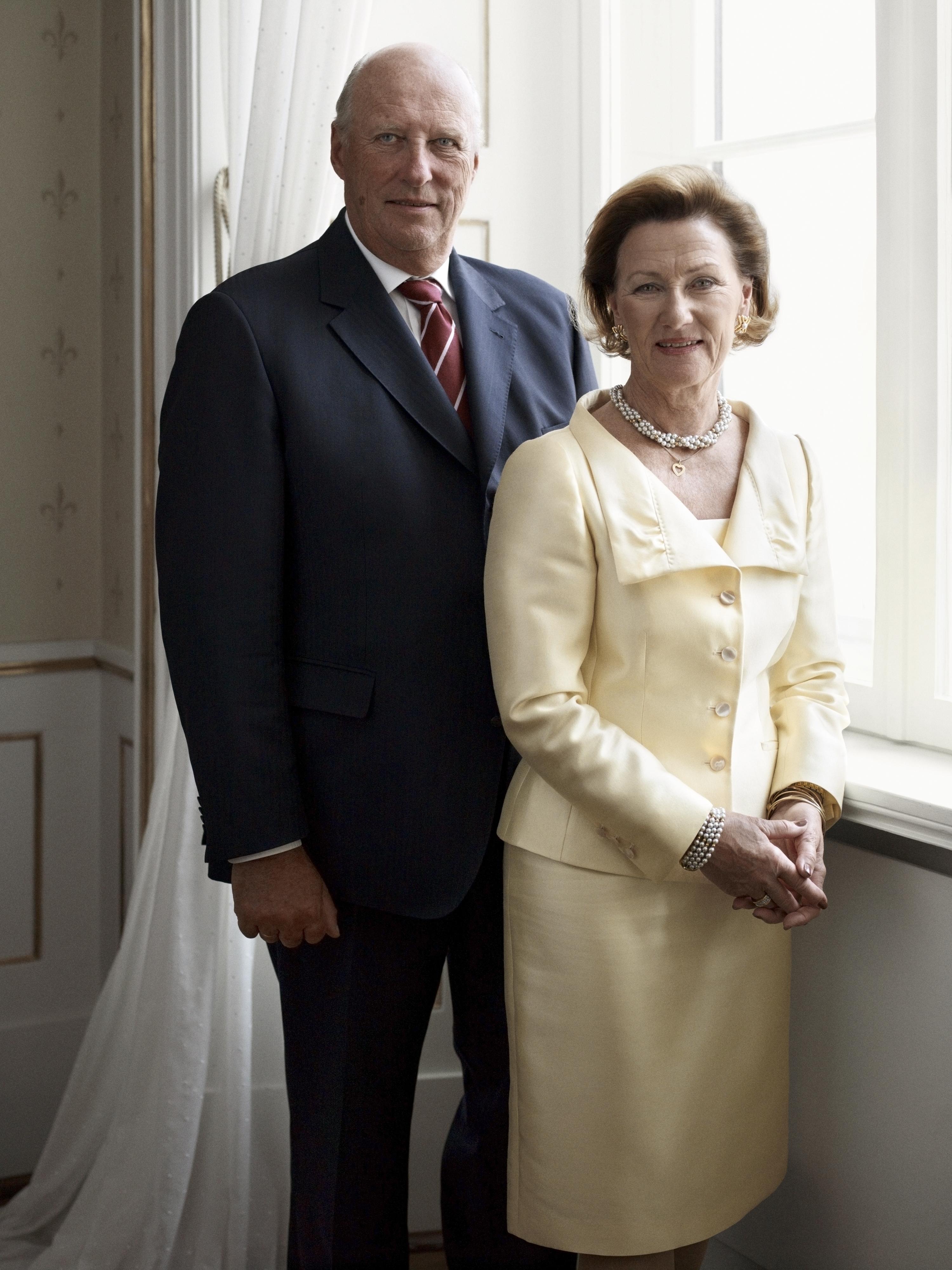 König Harald und Königin Sonja