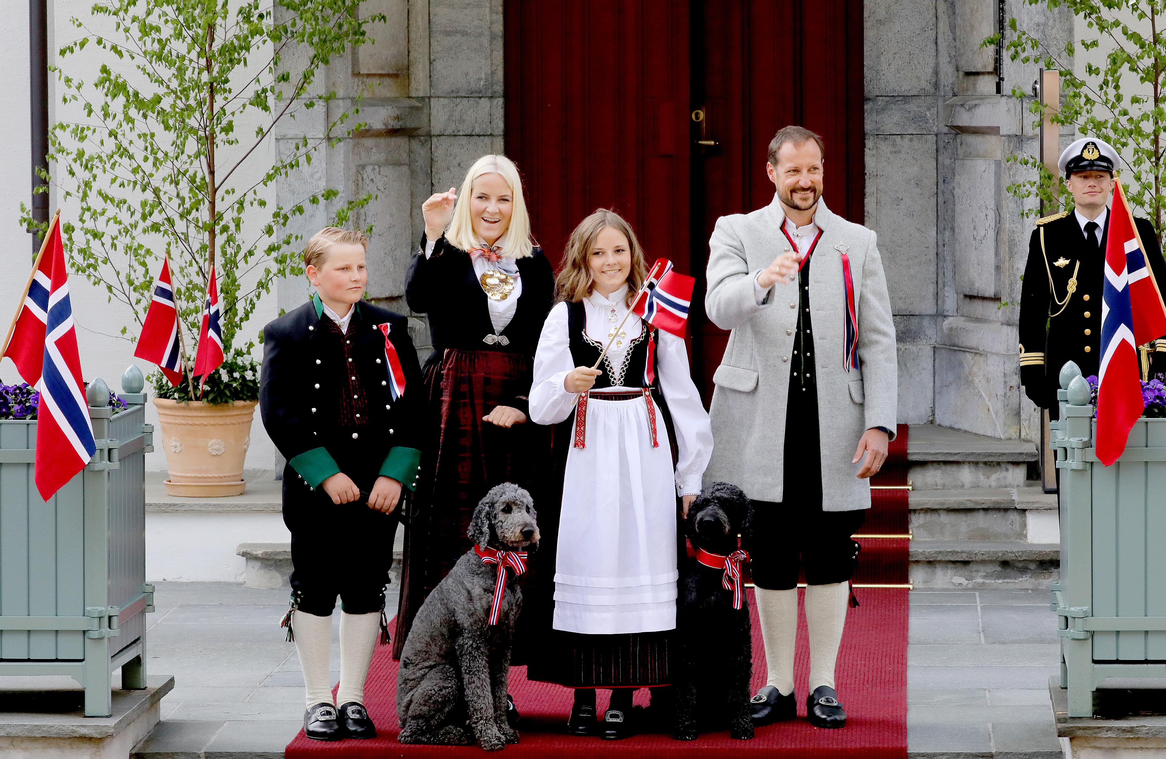 Die norwegische Köngisfamilie