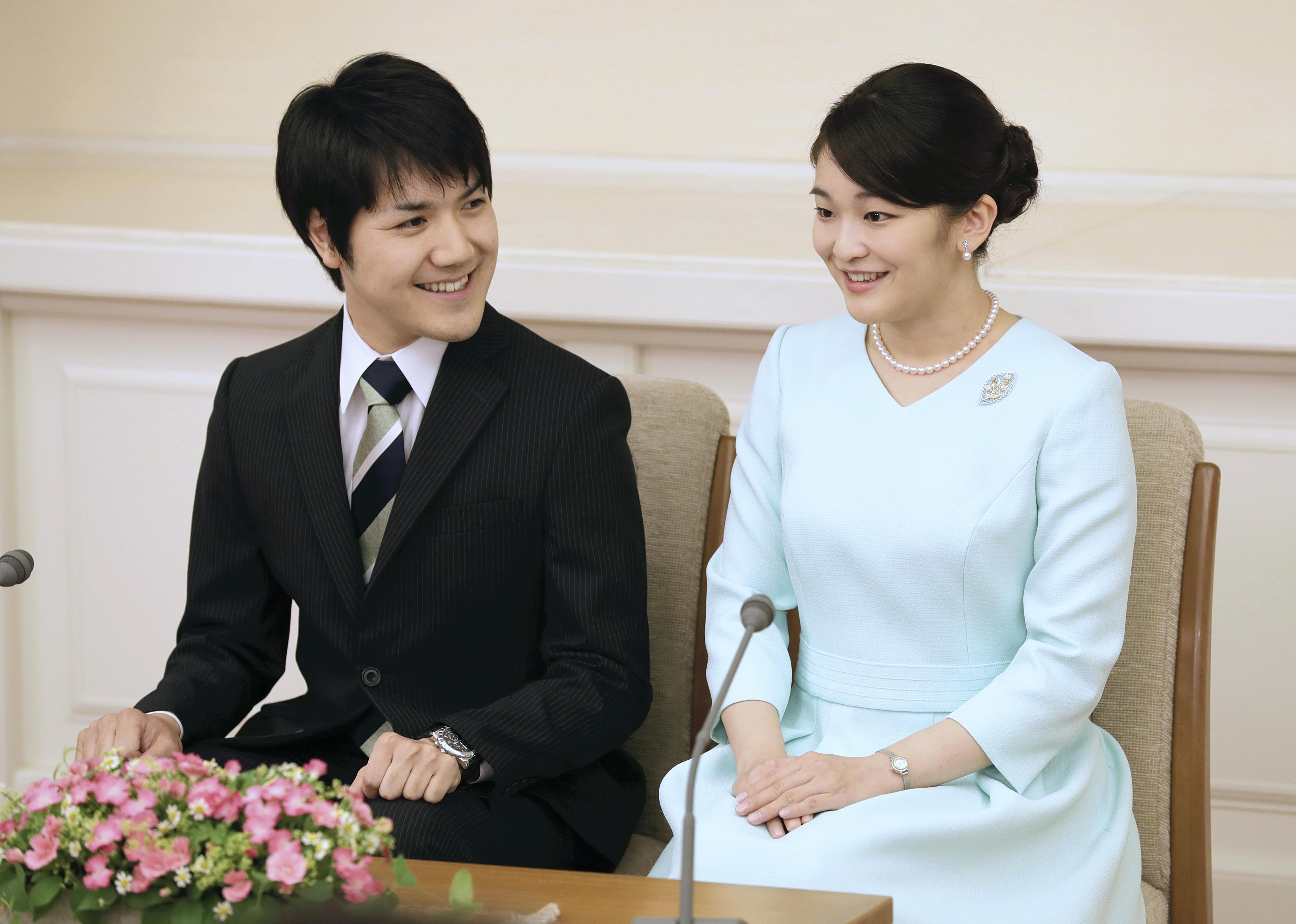 Prinzessin Mako und Kei Komuro