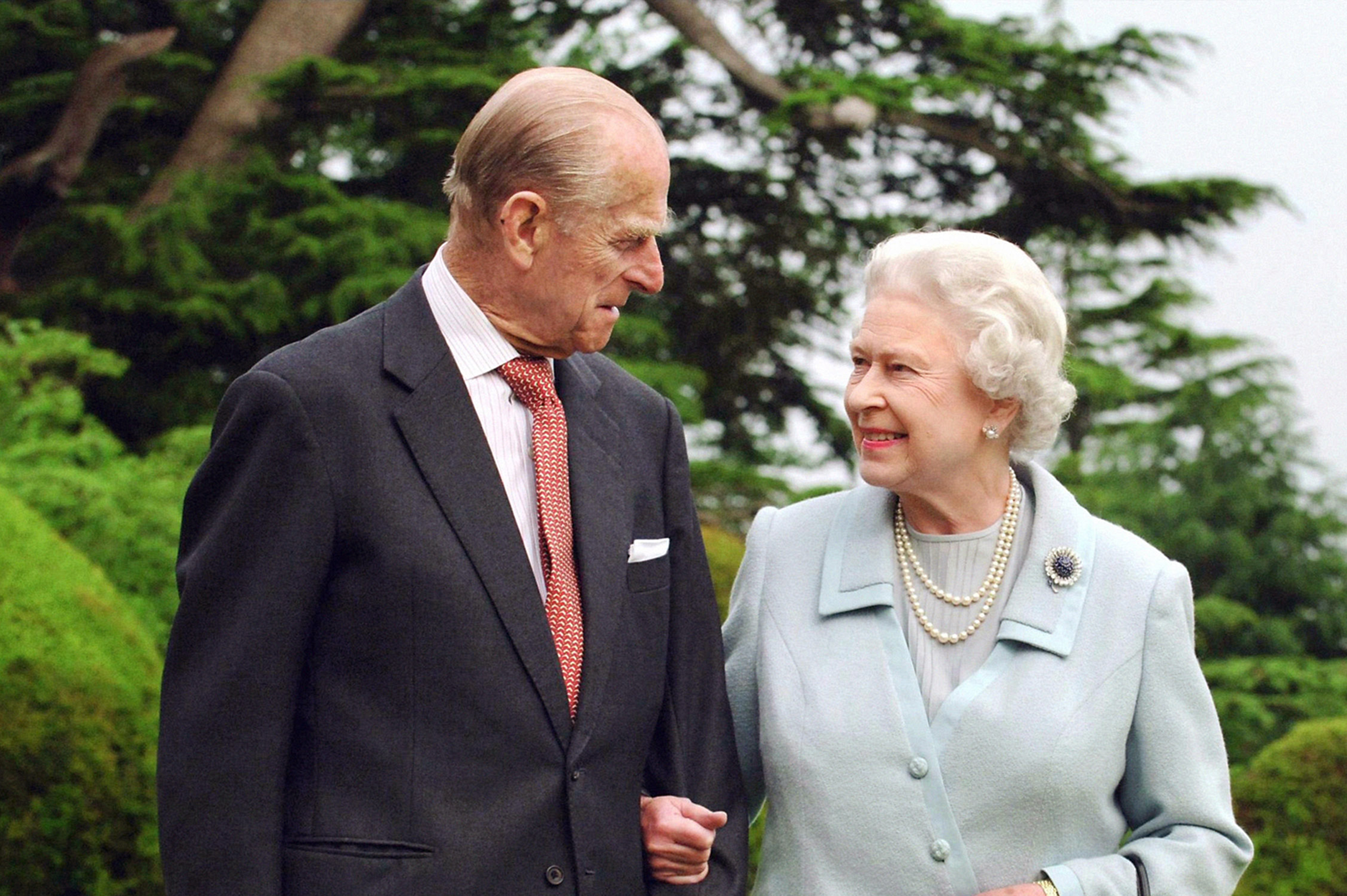 Prinz Philip und Queen Elizabeth