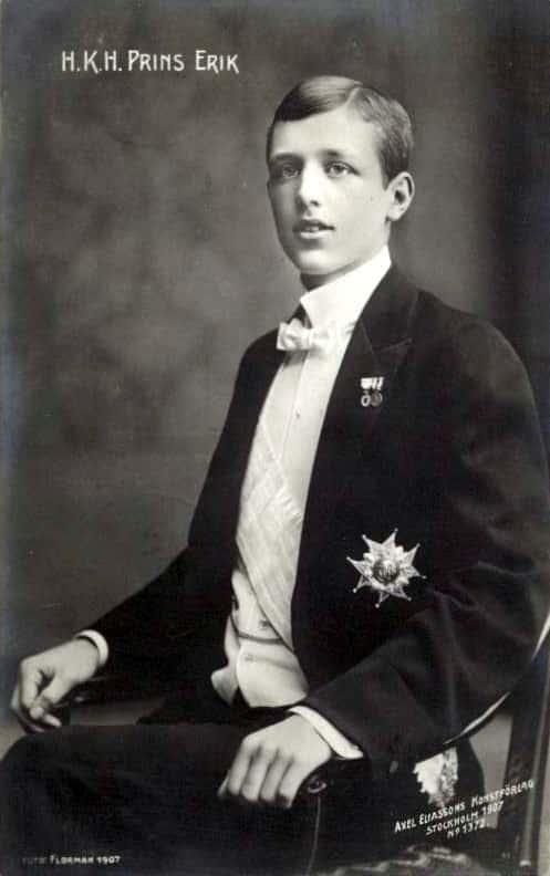 Erik Gustav von Schweden