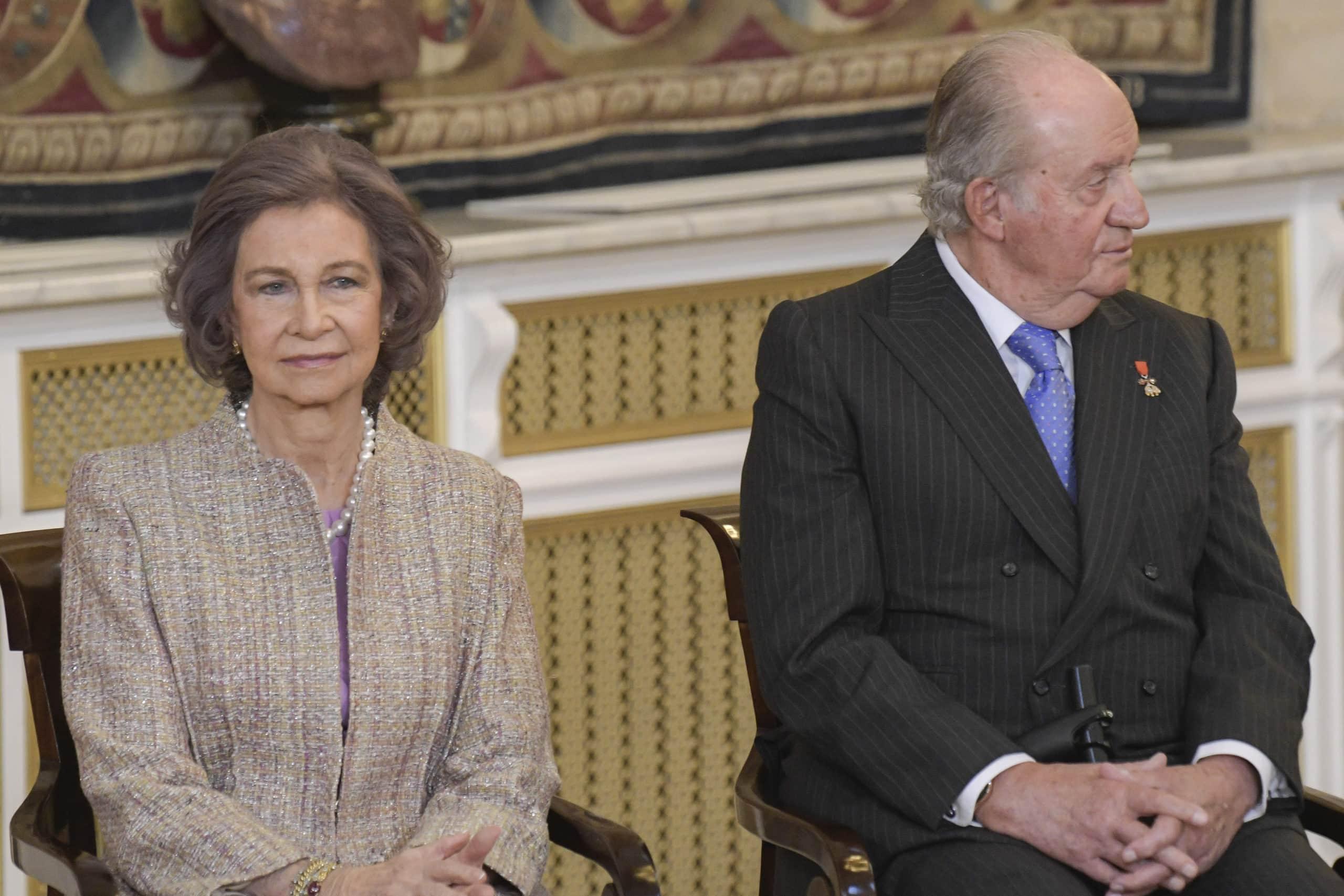 Sofia und Juan Carlos von Spanien