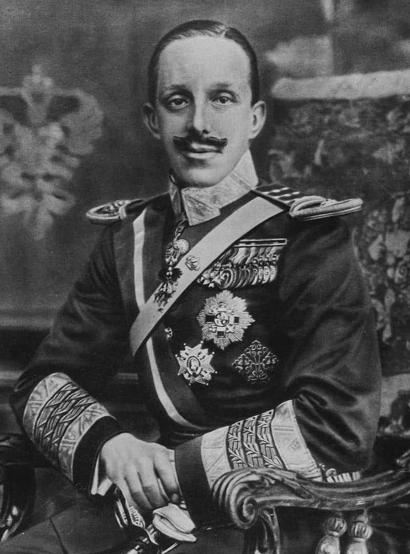 König Alfonso XIII.
