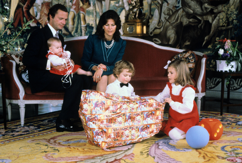 Weihnachten schwedische Royals