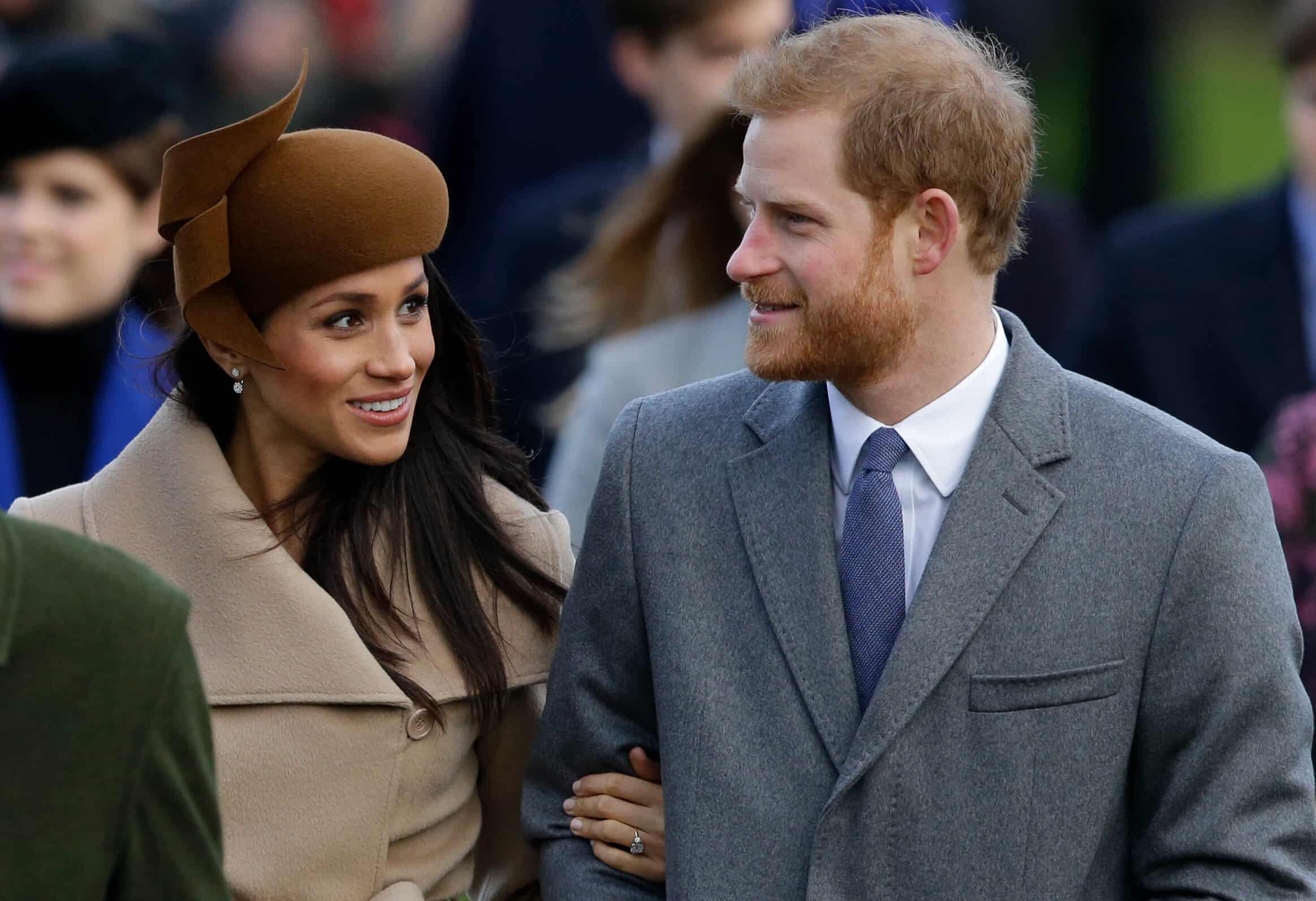 Sussexes Weihnachtskarte Herzogin Meghan und Prinz Harry