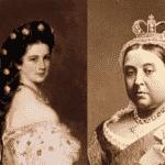 Kaiserin Elisabeth und Queen Victoria