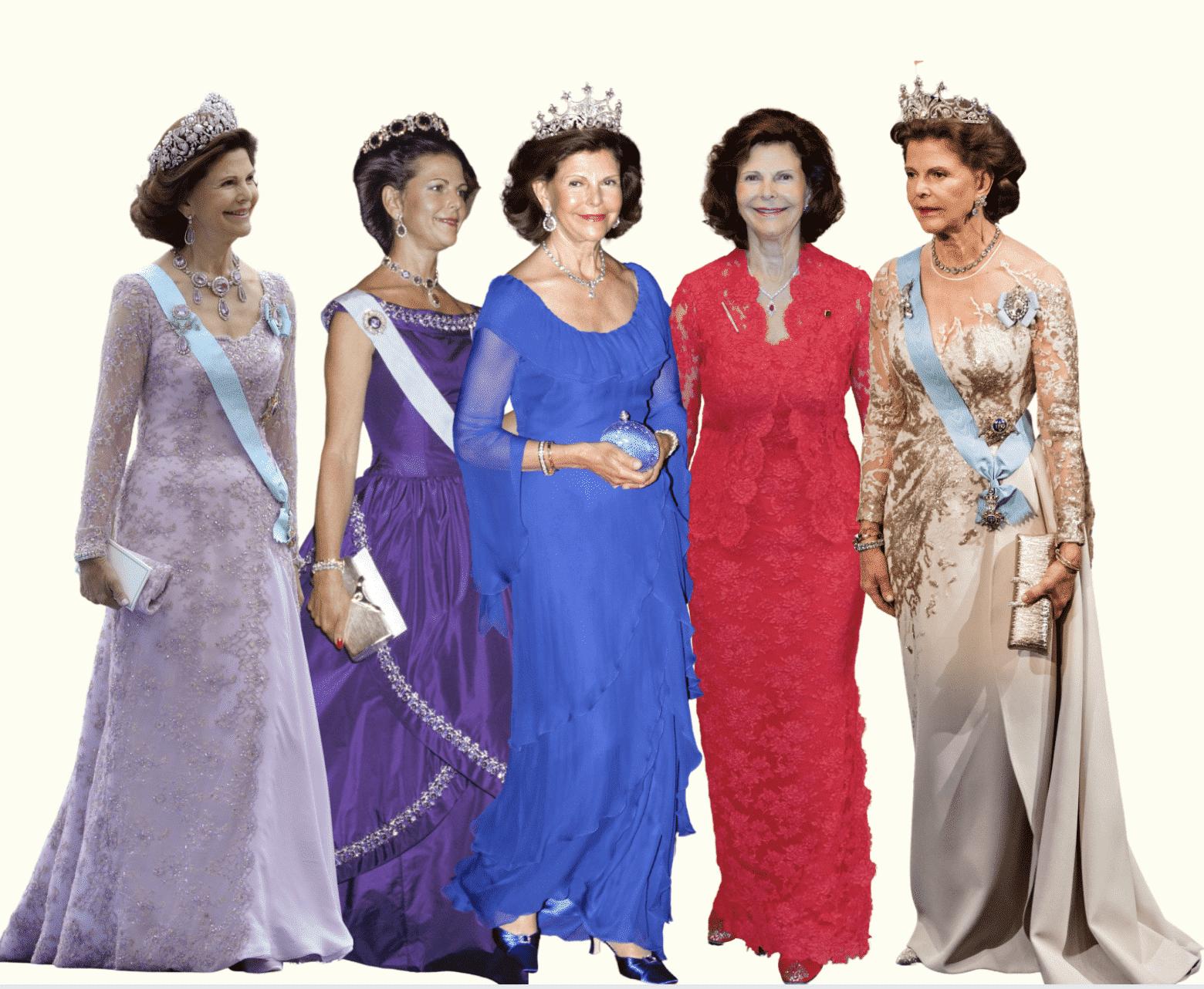 Die schönsten Kleider von Silvia