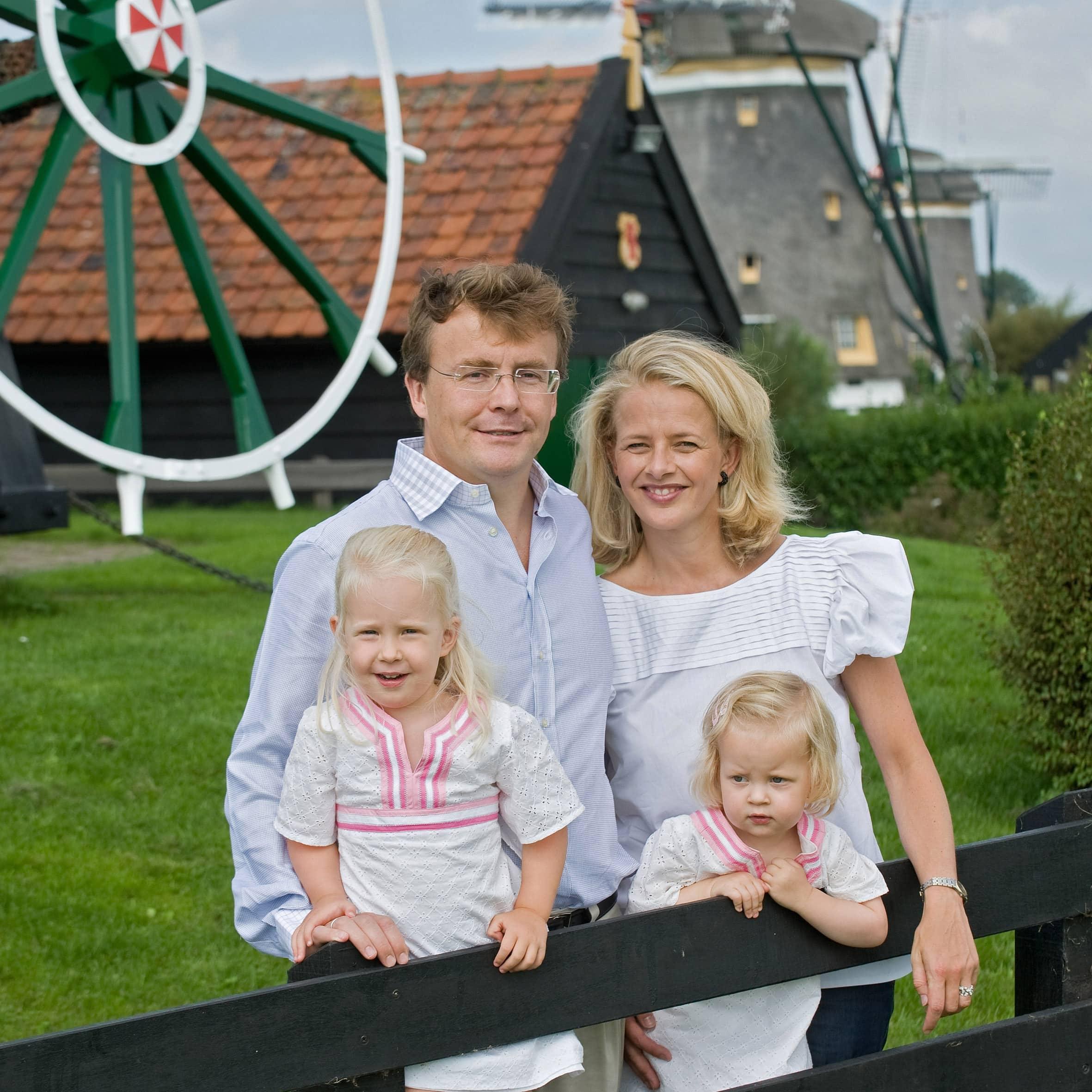 Royals Prinz Friso und seine Töchter