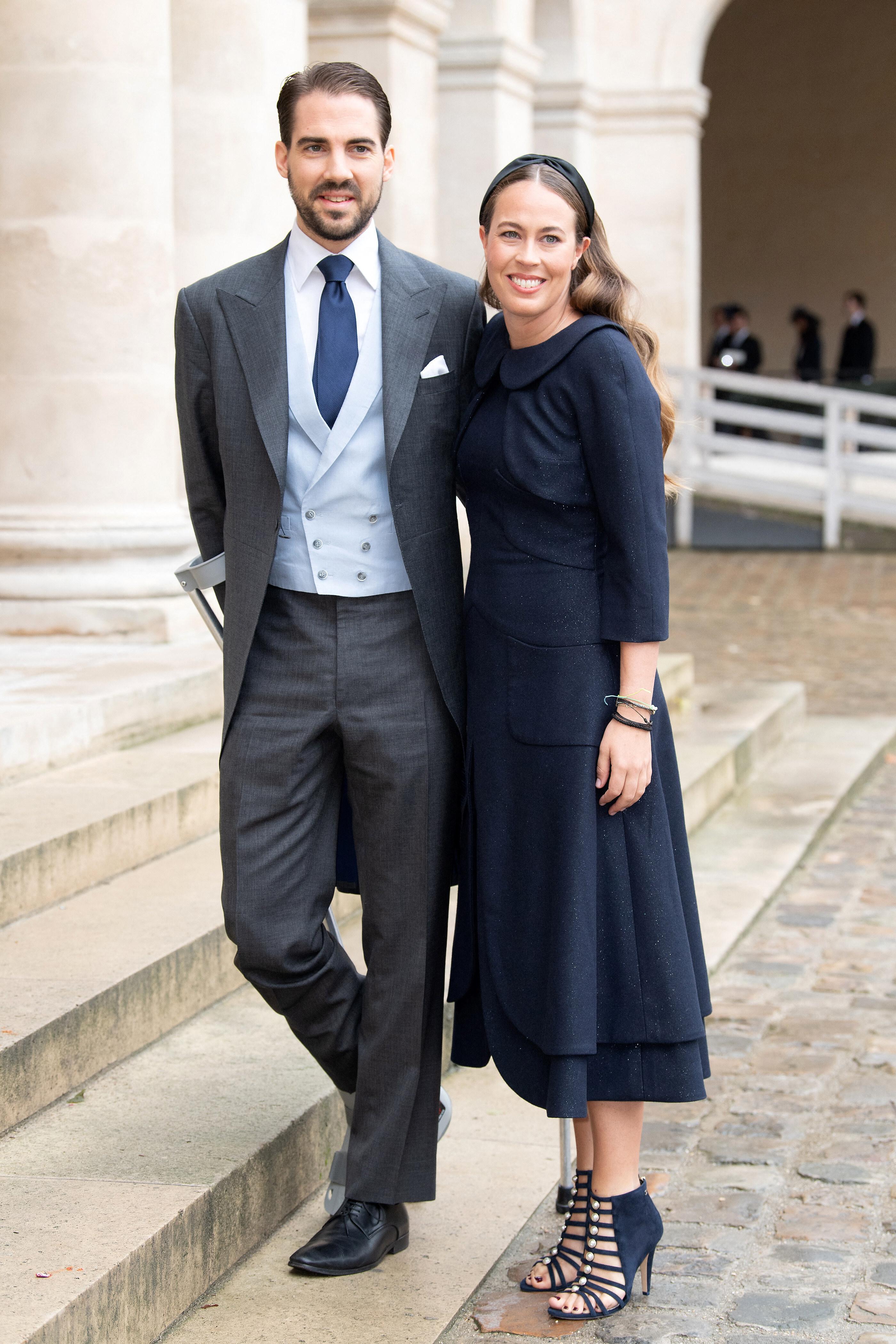 Prinz Philippos und Nina Flohr