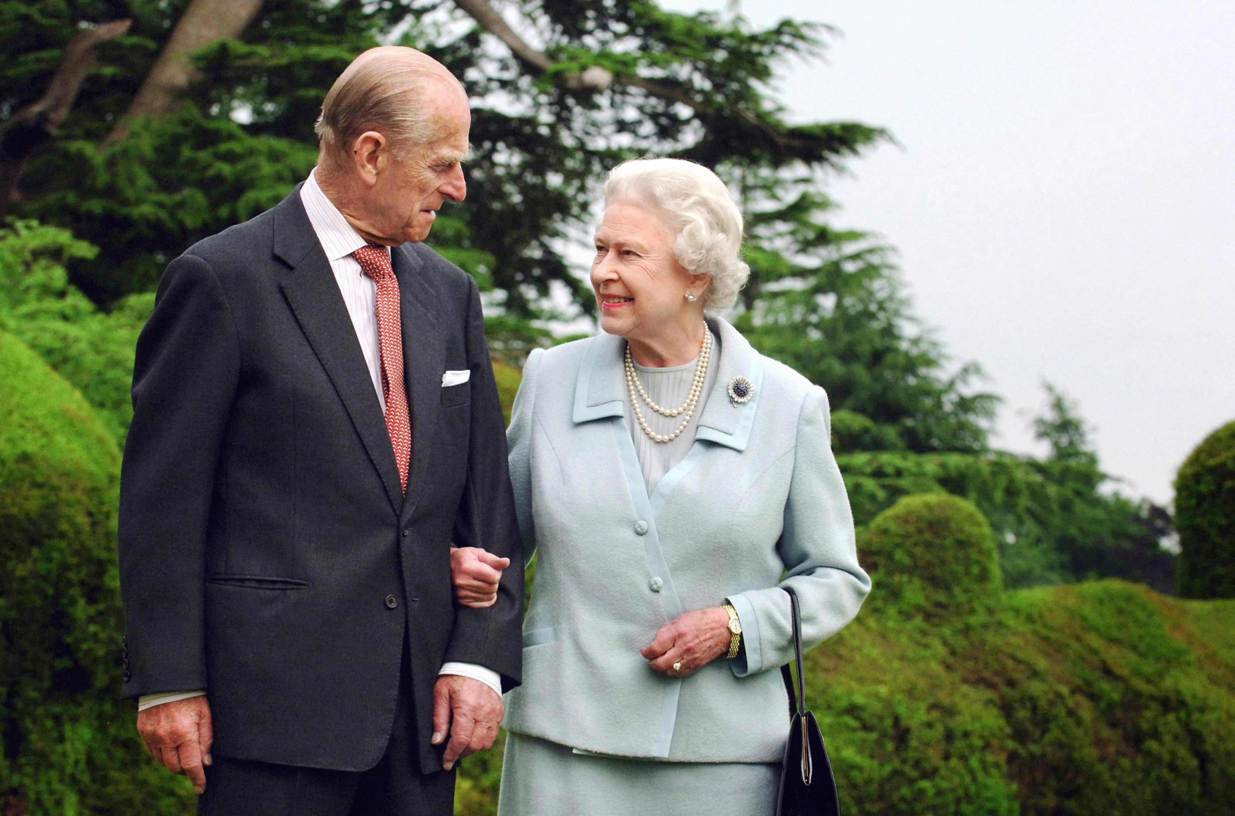 Queen Elizabeth und Prinz Philip