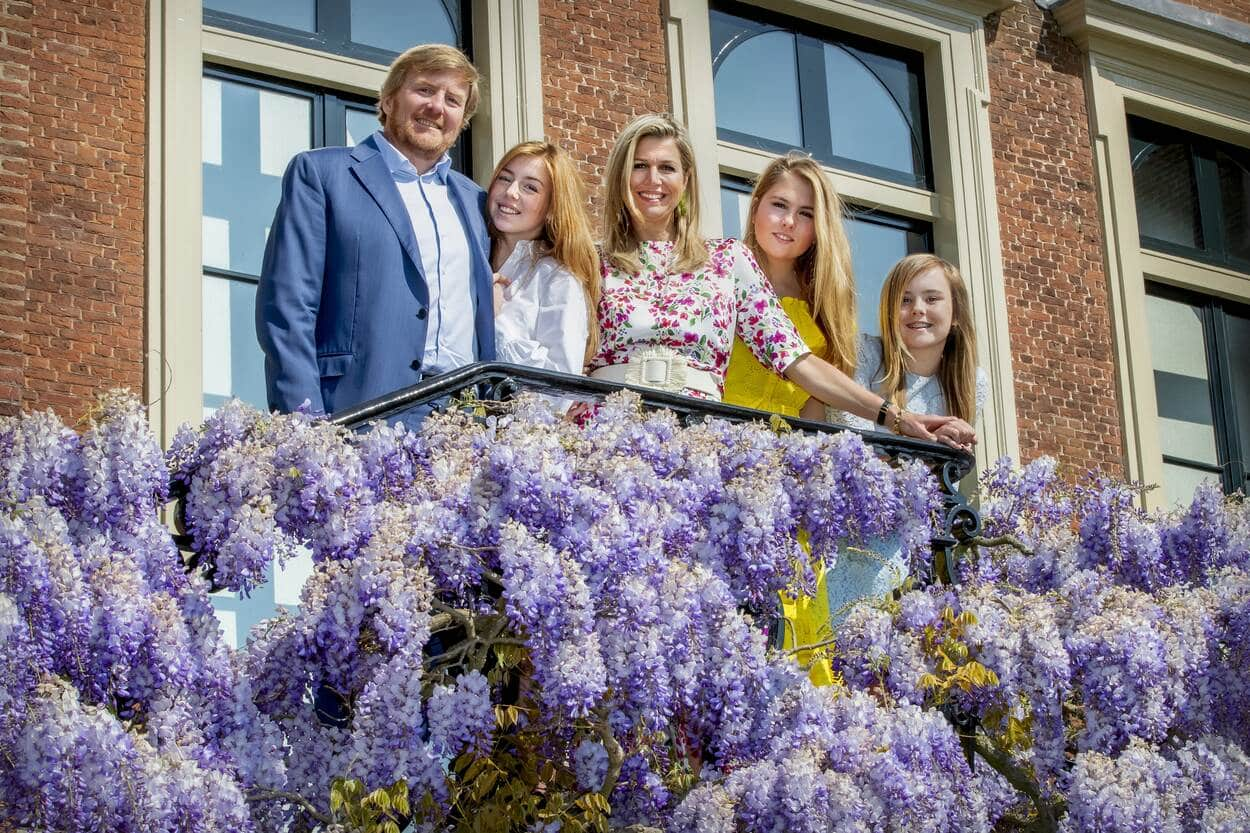 König Willem-Alexander und seine Familie