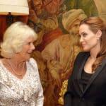 Herzogin Camilla und Angelina Jolie