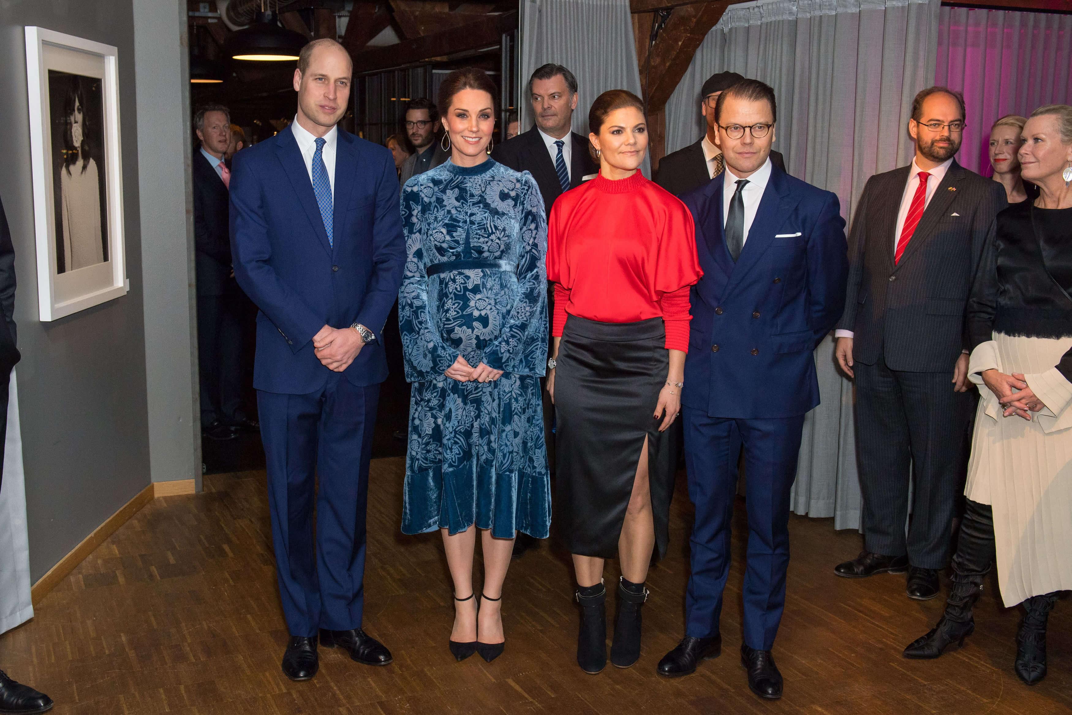 Kronprinzessin Victoria und Herzogin Kate