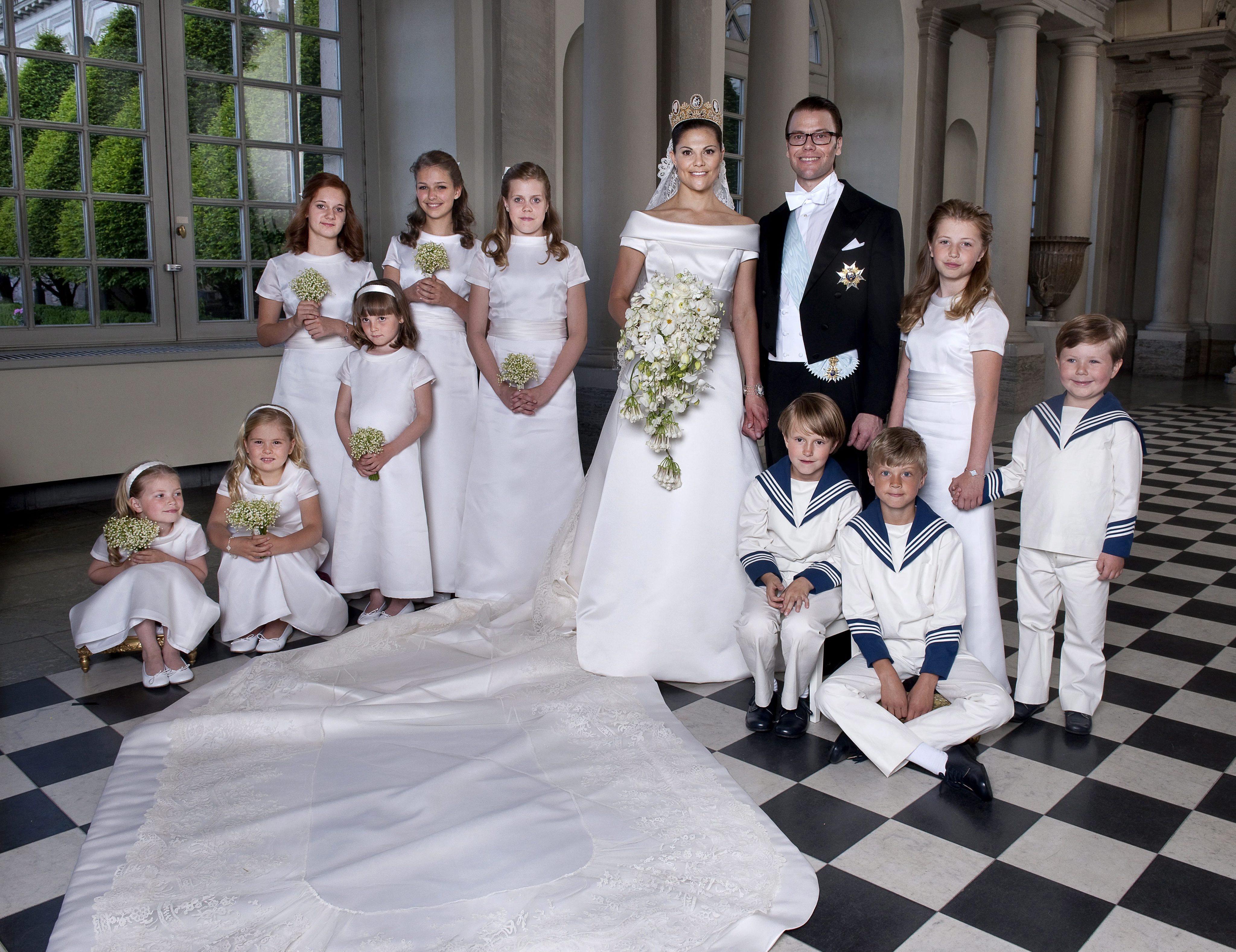 Prinzessin Ingrid Alexandra bei der Hochzeit von Kronprinzessin Victoria