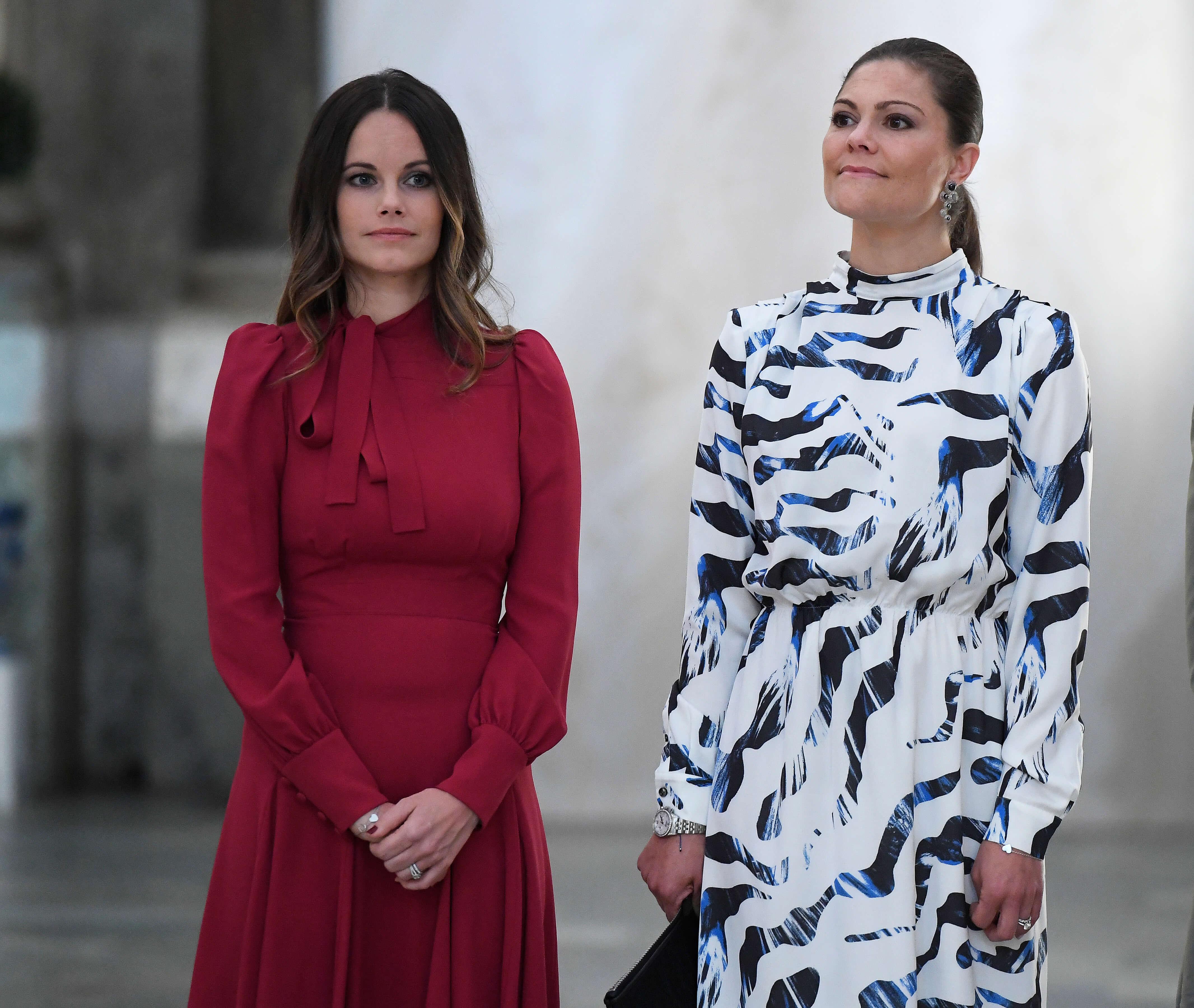 Prinzessin Sofia und Kronprinzessin Victroria