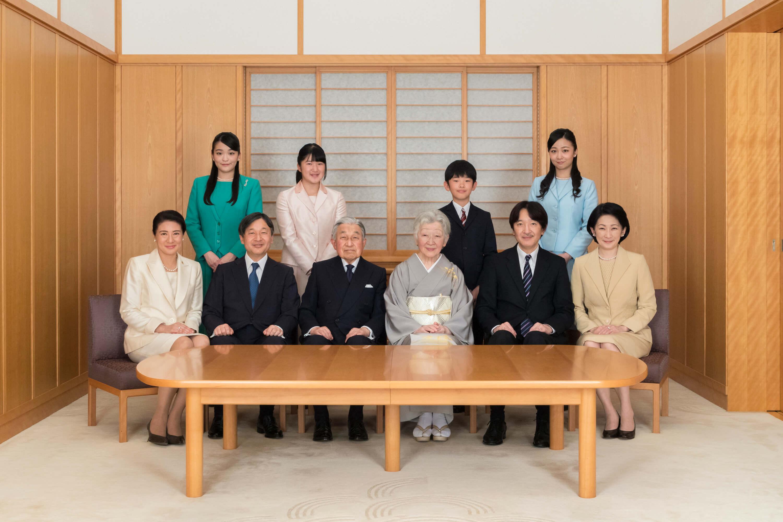 Die Thronfolge der japanischen Royals