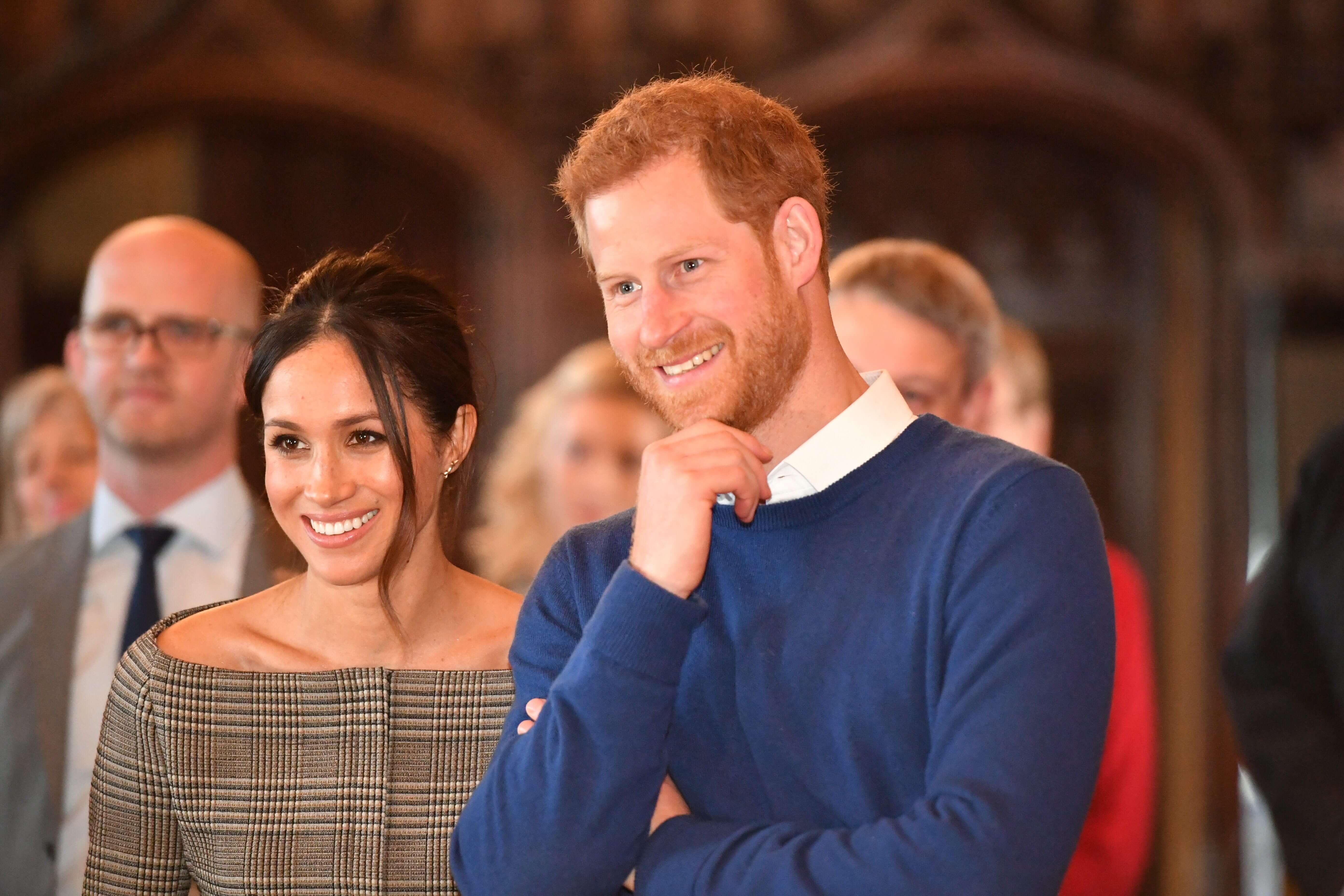 Herzogin Meghan und Prinz Harry stellen neues Projekt vor