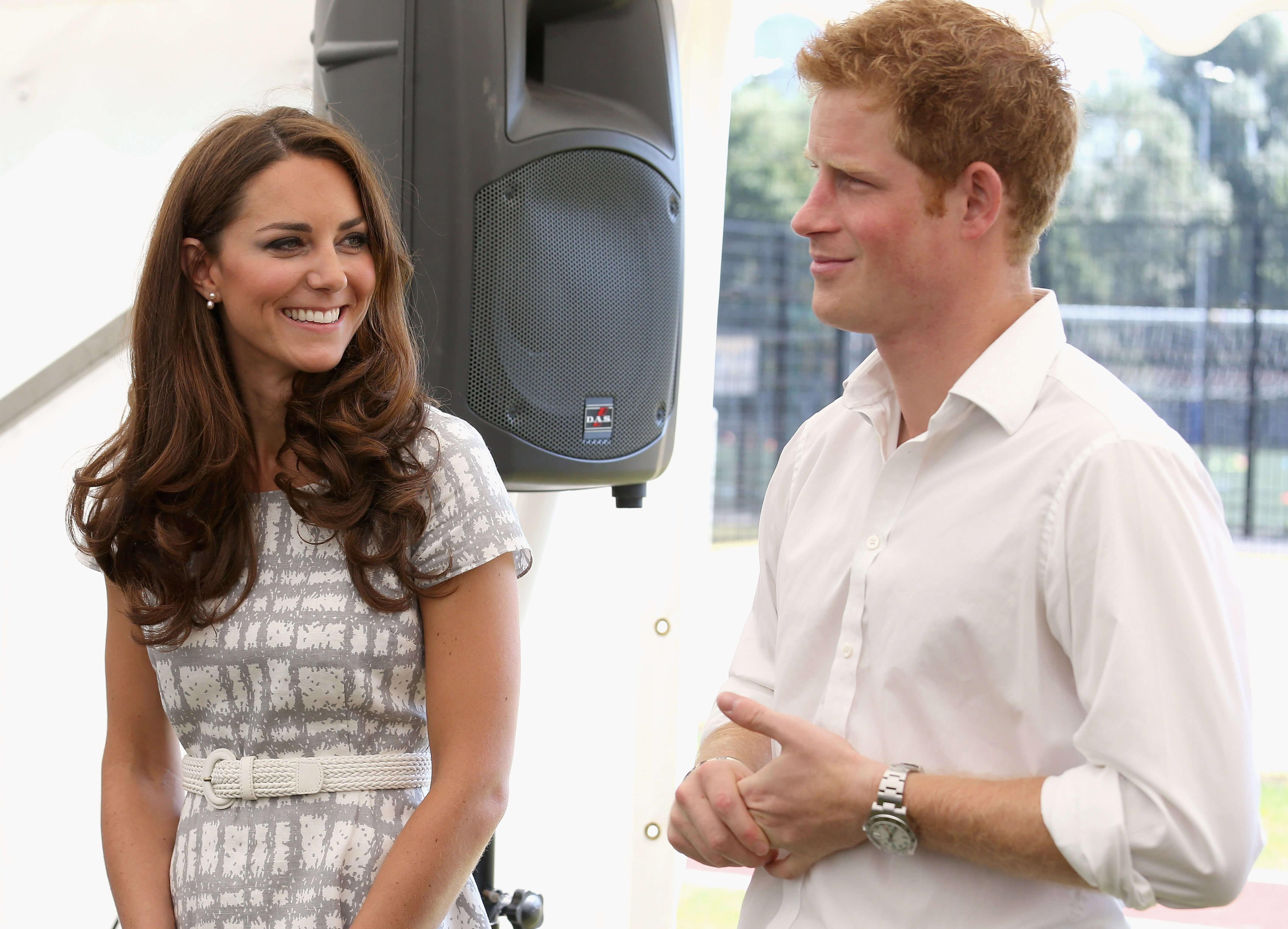 Herzogin Kate und Prinz Harry