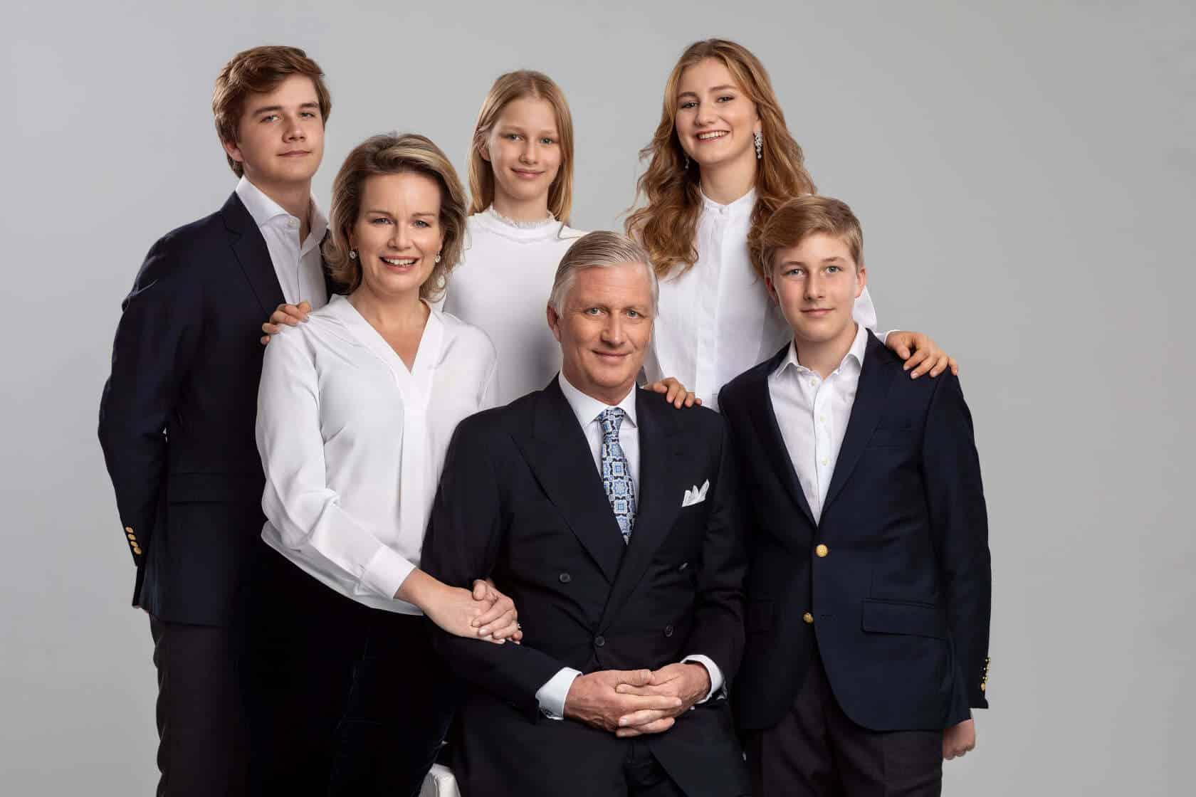 Prinzessin Elisabeth von Belgien und ihre Familie