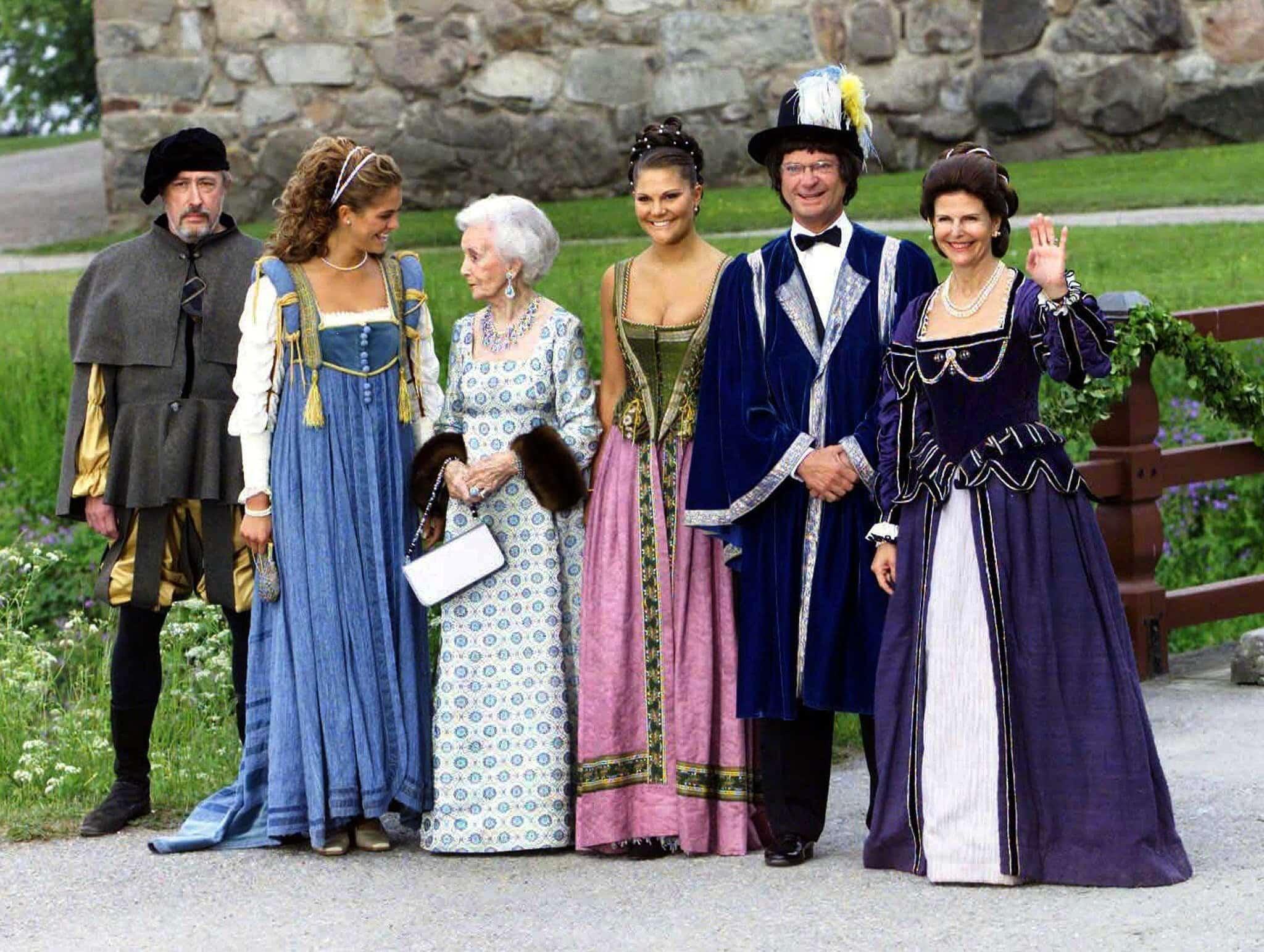 Royals verkleidet